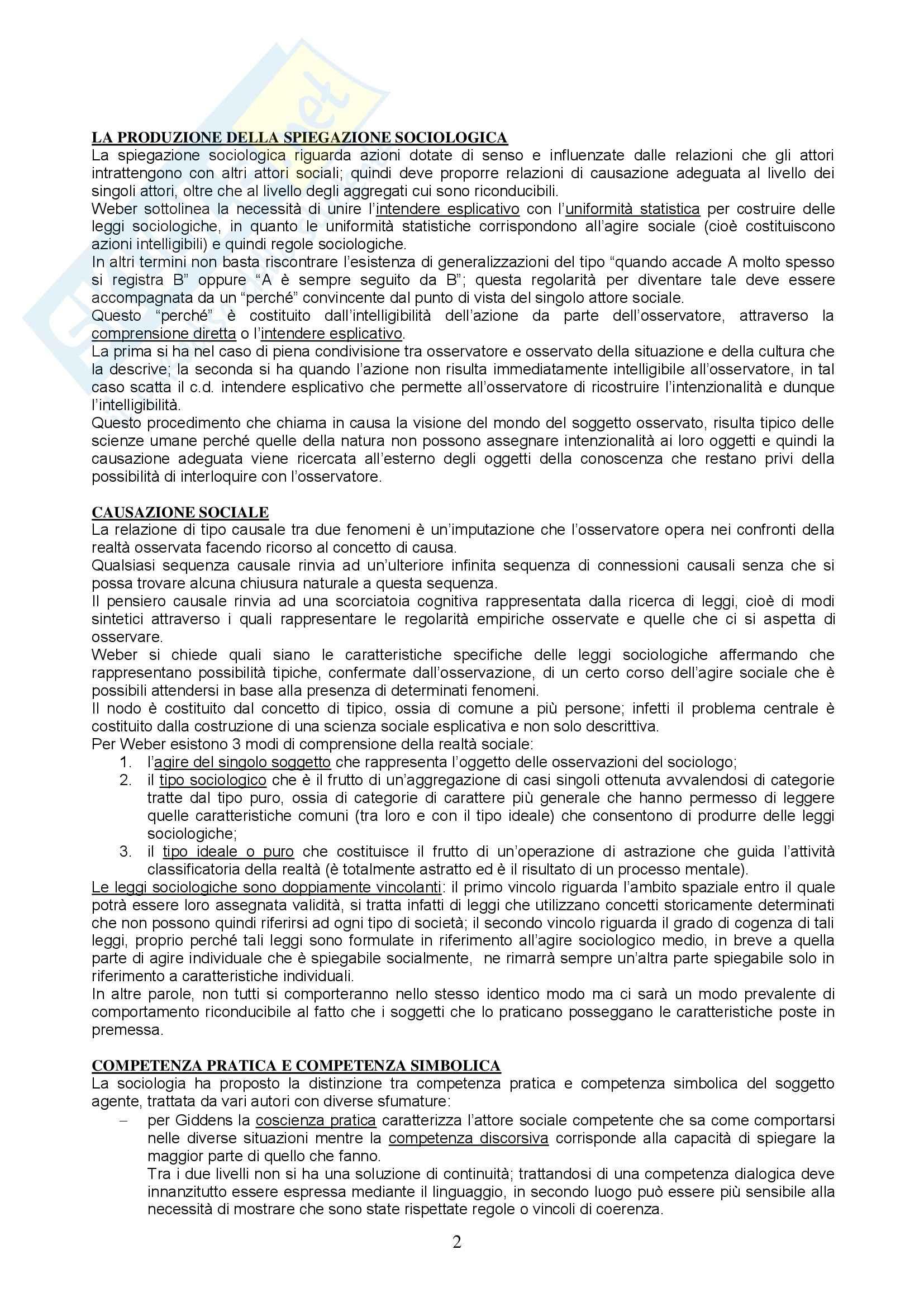 Metodologia e tecniche della ricerca sociale - Appunti Pag. 2