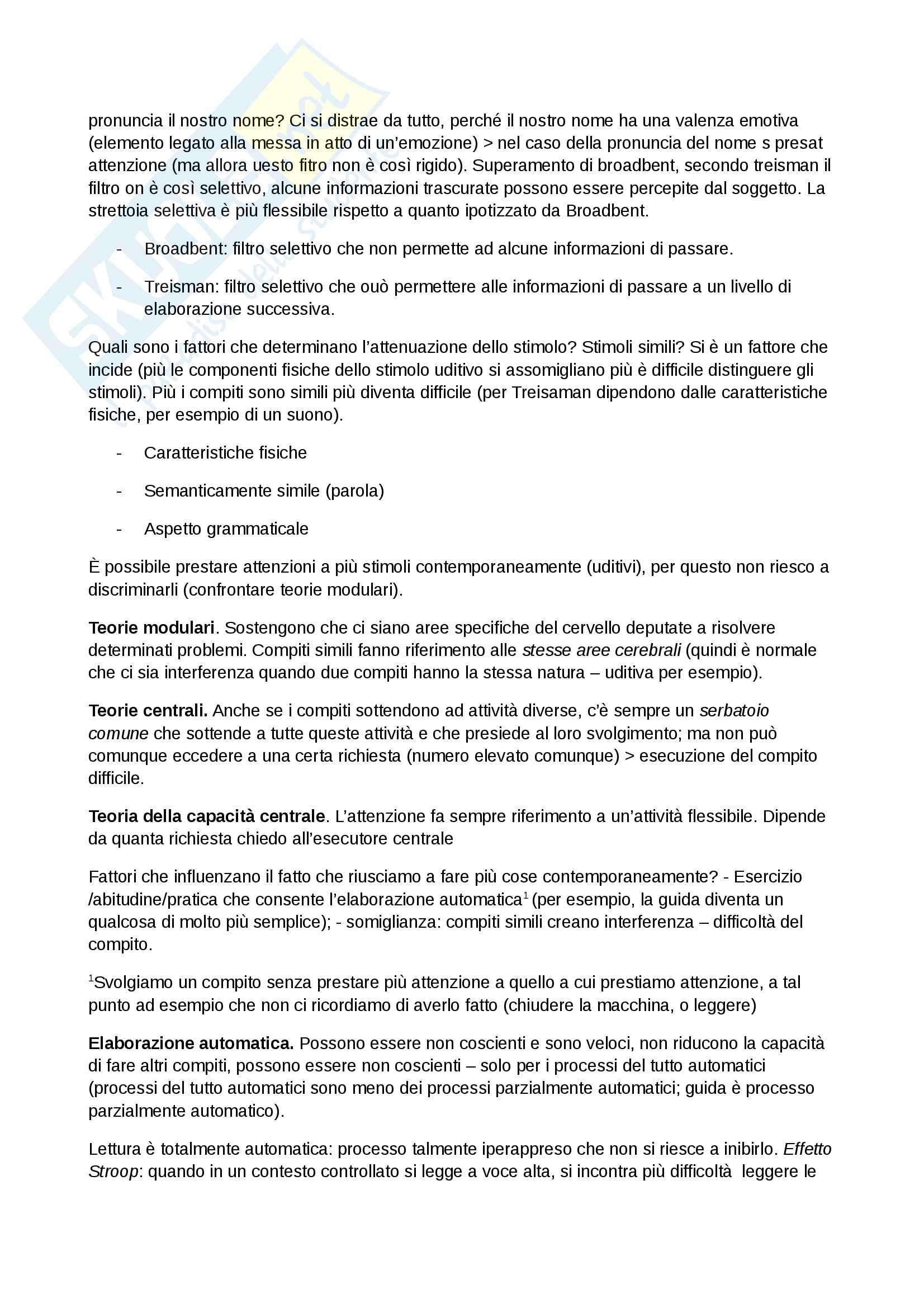 Psicologia Generale Pag. 11