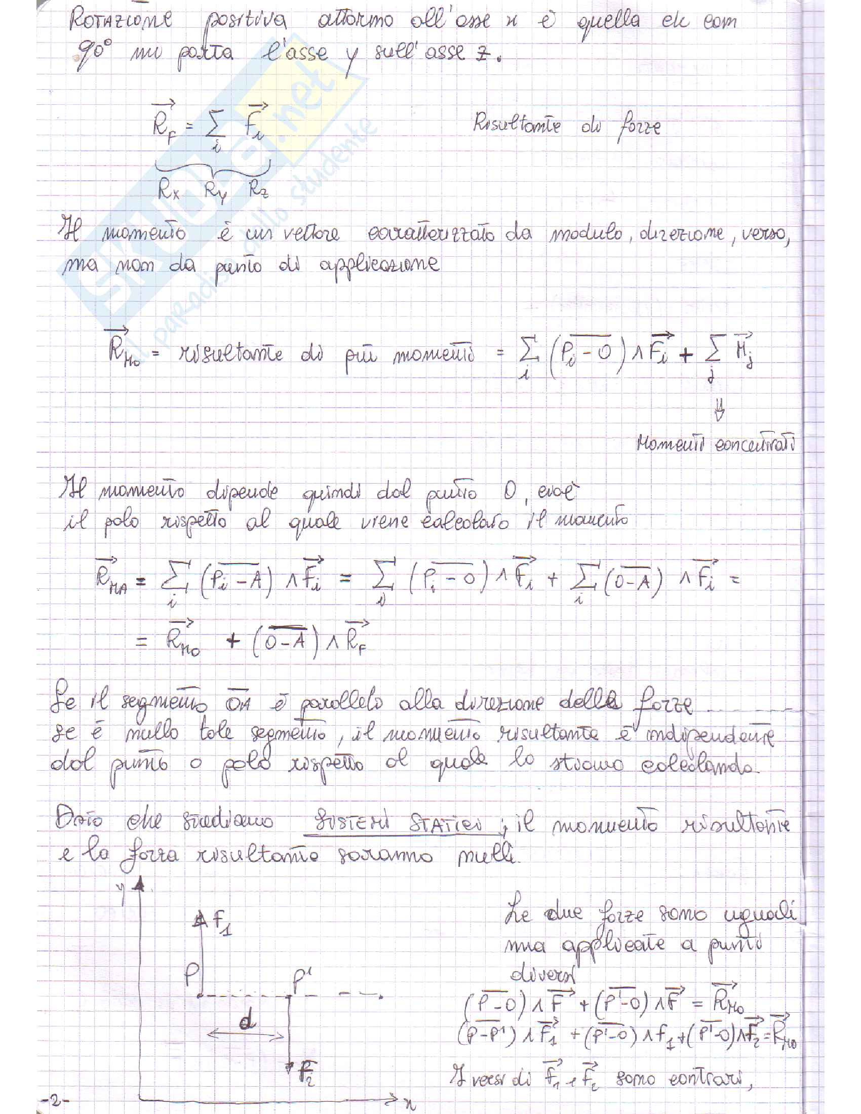 Appunti - Teoria Fondamenti di Meccanica Strutturale