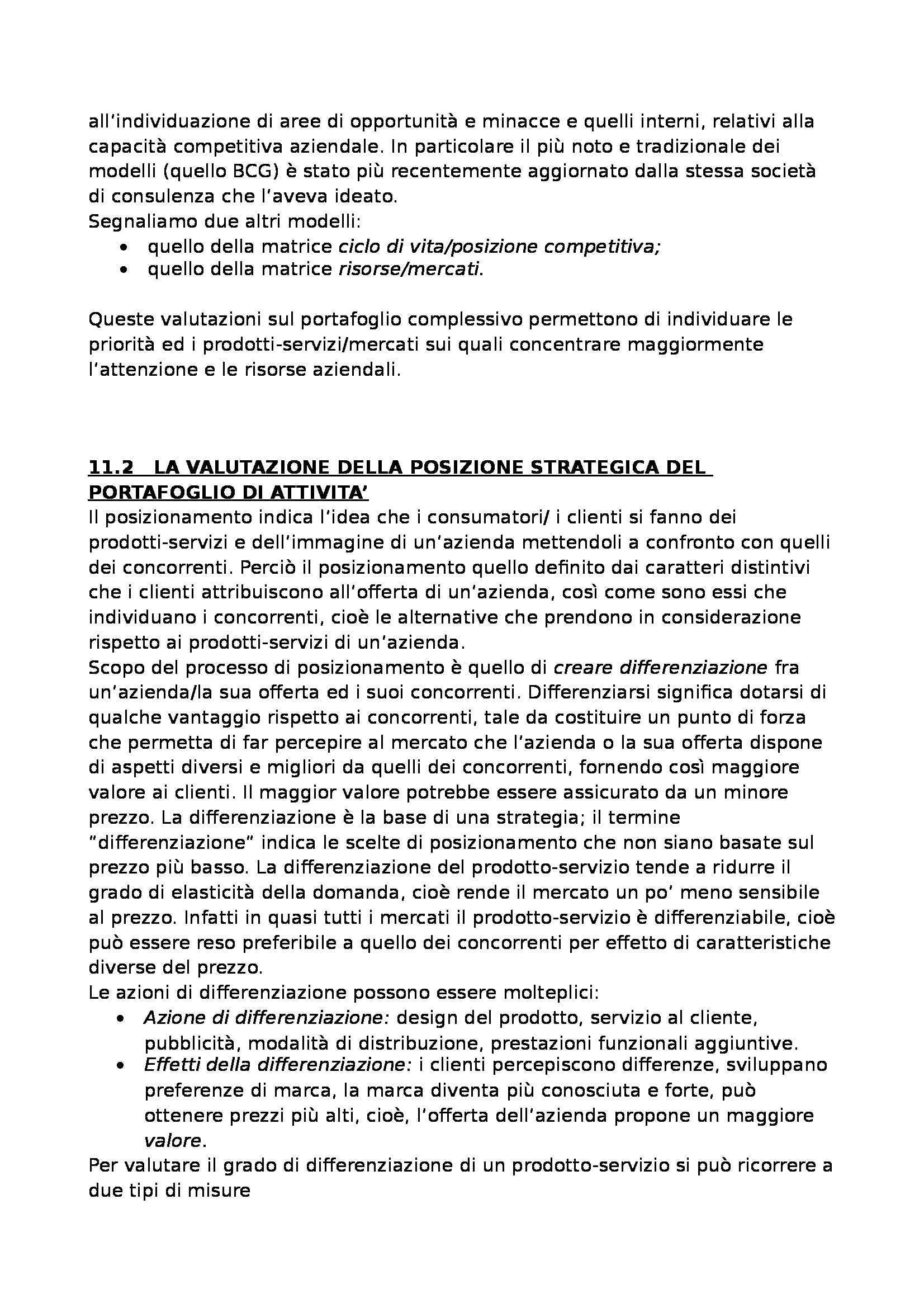 Riassunto esame Economia e Gestione delle Imprese, prof. Colurcio, libro consigliato Marketing del Prodotto-servizio, Raimondi Pag. 61