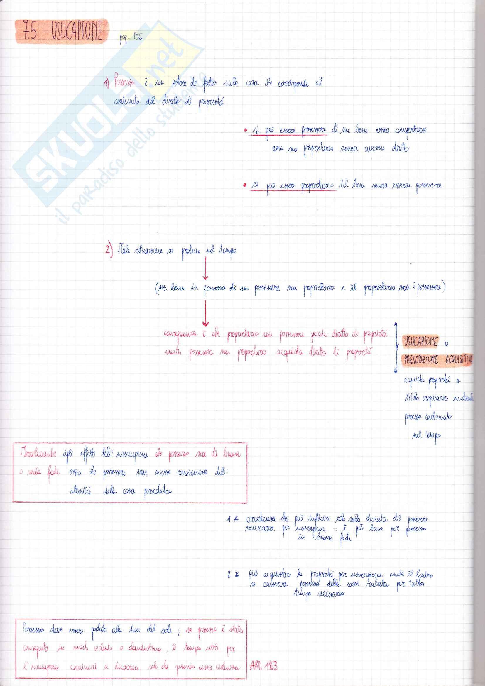 Riassunto esame Diritto Privato, prof. Ciatti, libro consigliato Diritto Privato, Galgano Pag. 71