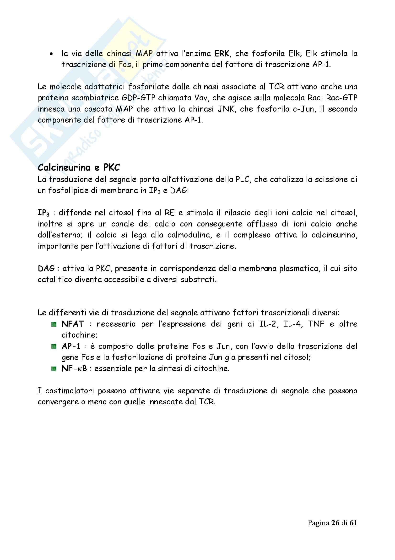Immunologia - Appunti Pag. 26