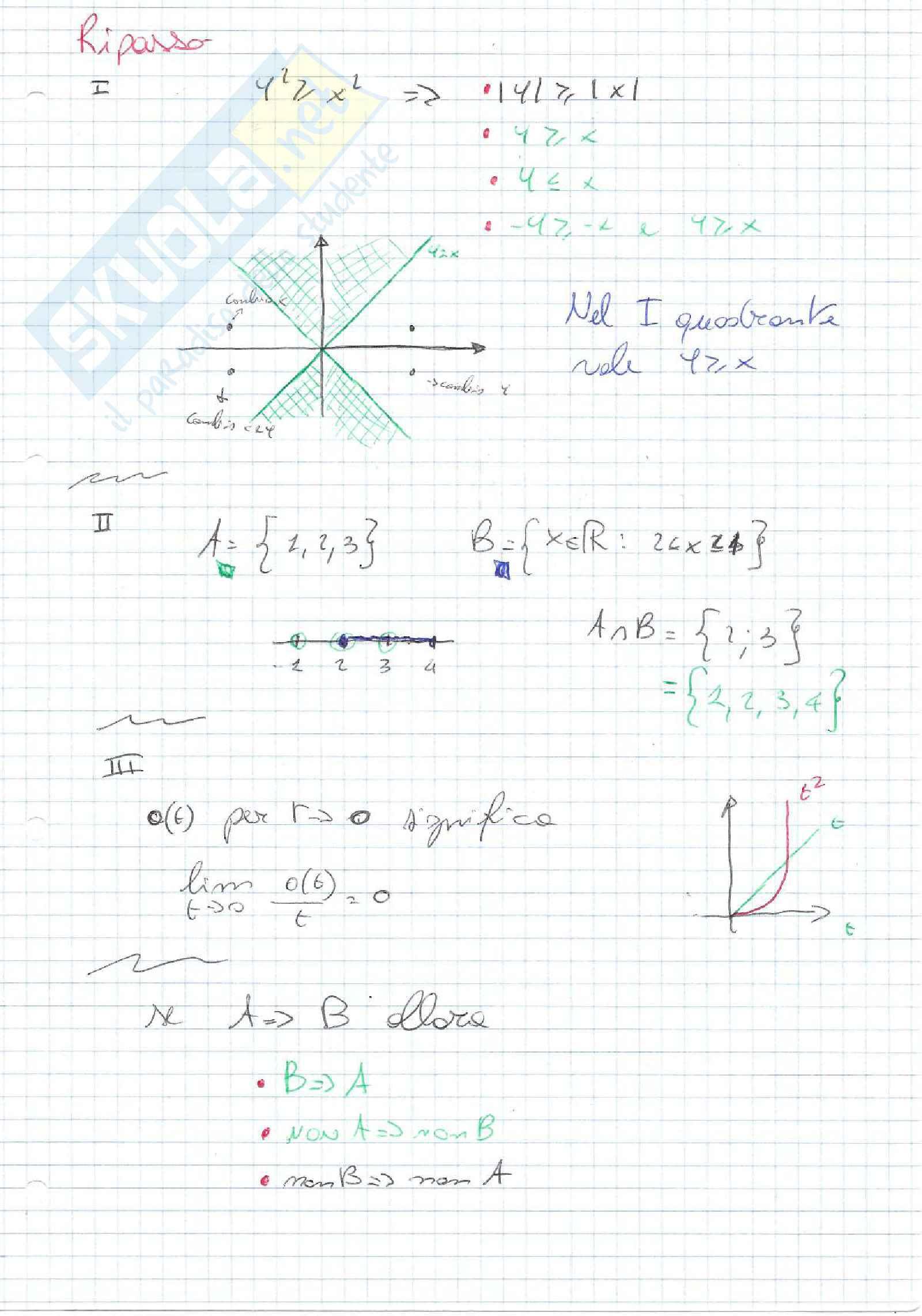 Analisi 2 - parte 1