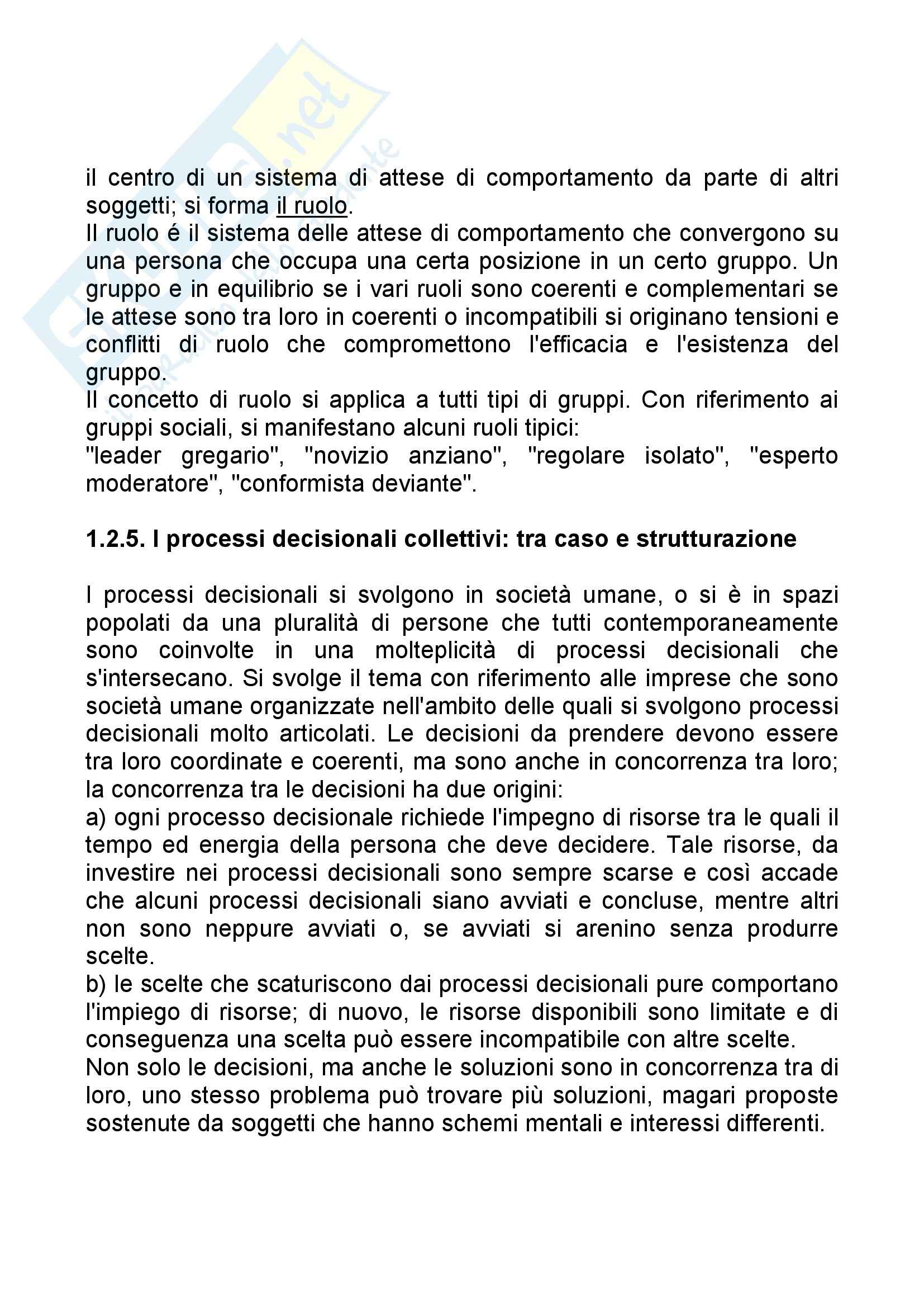 Riassunto esame Economia Aziendale, prof. Bagnoli, libro consigliato Corso di Economia Aziendale, Airoldi Pag. 11