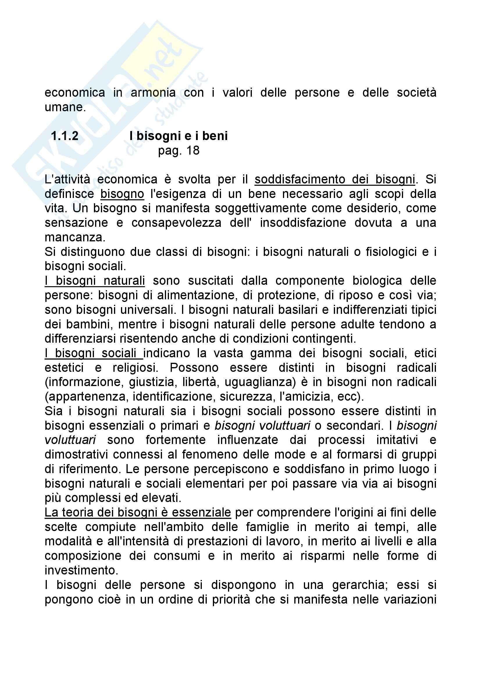 Riassunto esame Economia Aziendale, prof. Bagnoli, libro consigliato Corso di Economia Aziendale, Airoldi Pag. 2