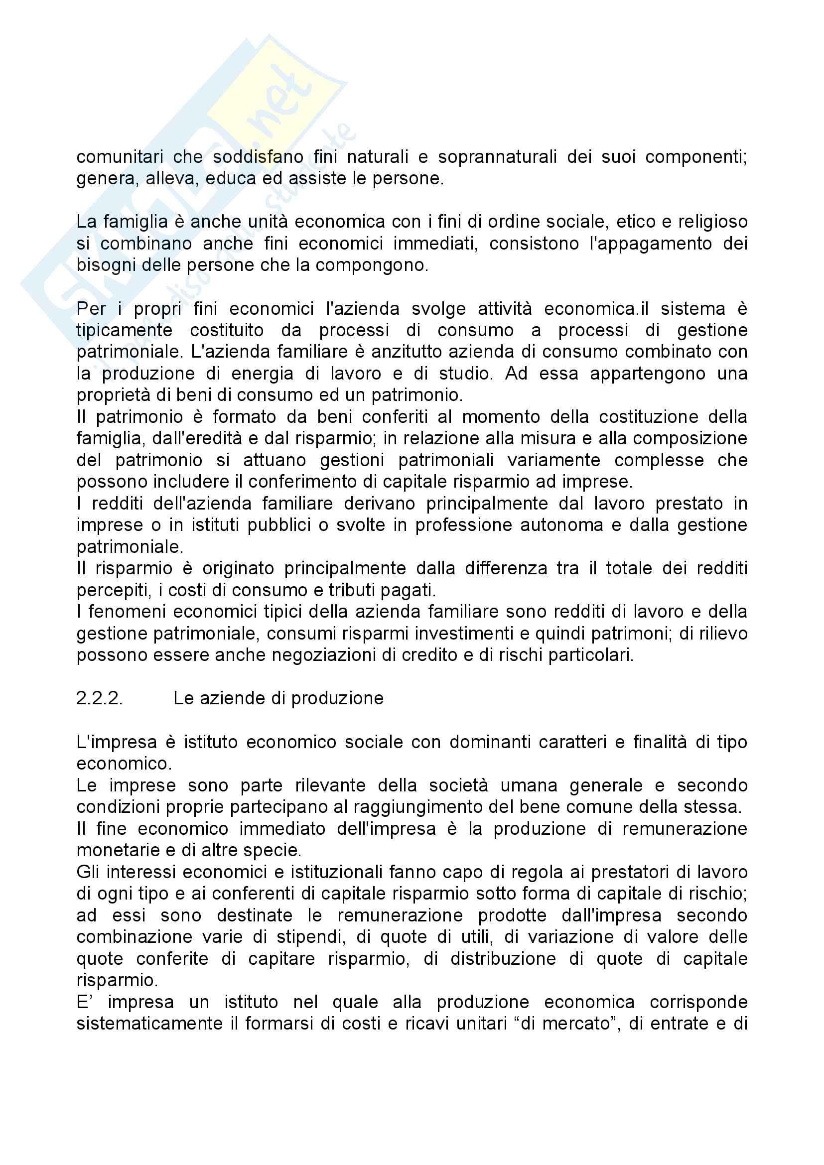 Riassunto esame Economia Aziendale, prof. Bagnoli, libro consigliato Corso di Economia Aziendale, Airoldi Pag. 26