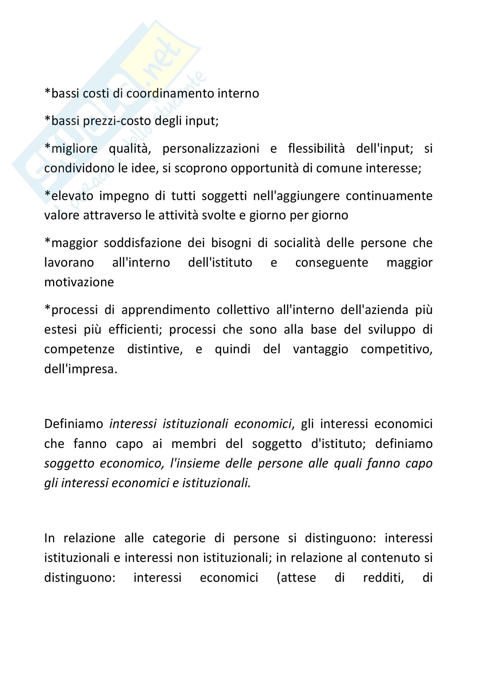 Riassunto esame Economia Aziendale, prof. Bagnoli, libro consigliato Corso di Economia Aziendale, Airoldi Pag. 36