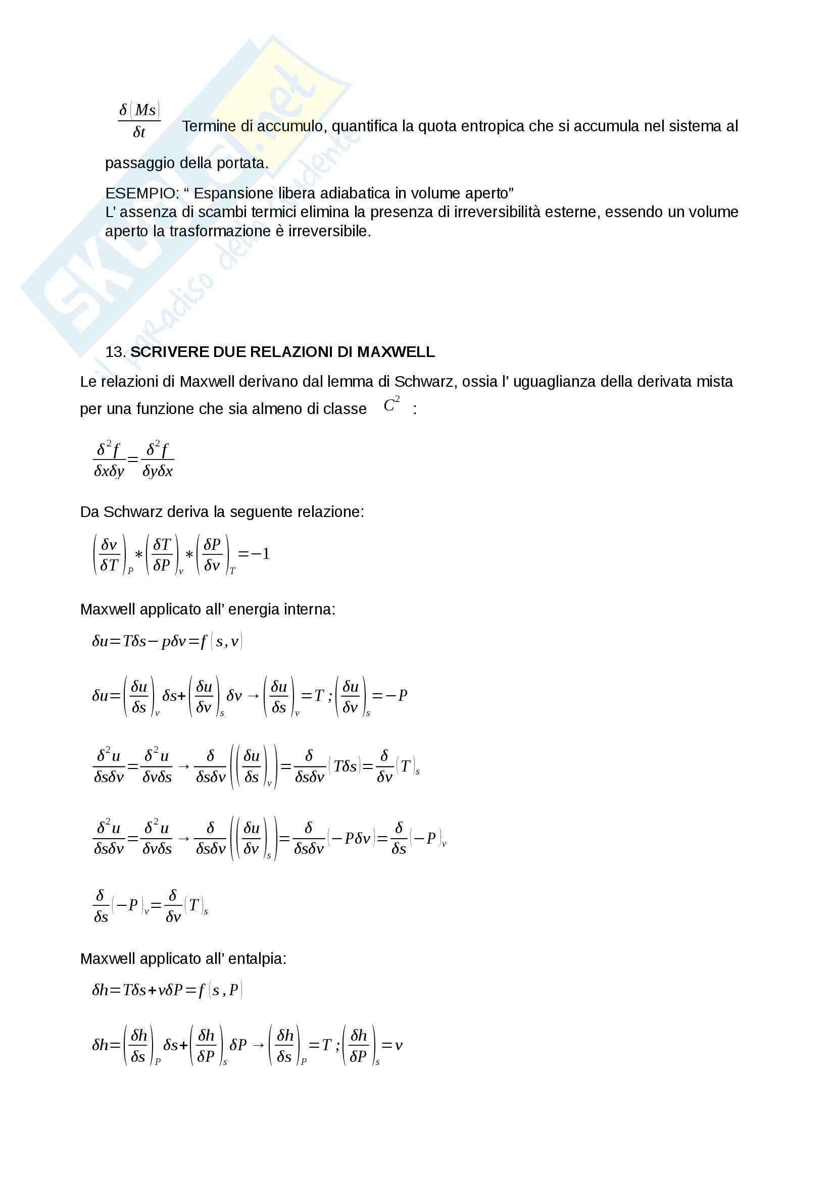 Domande di teoria Fisica tecnica Pag. 6