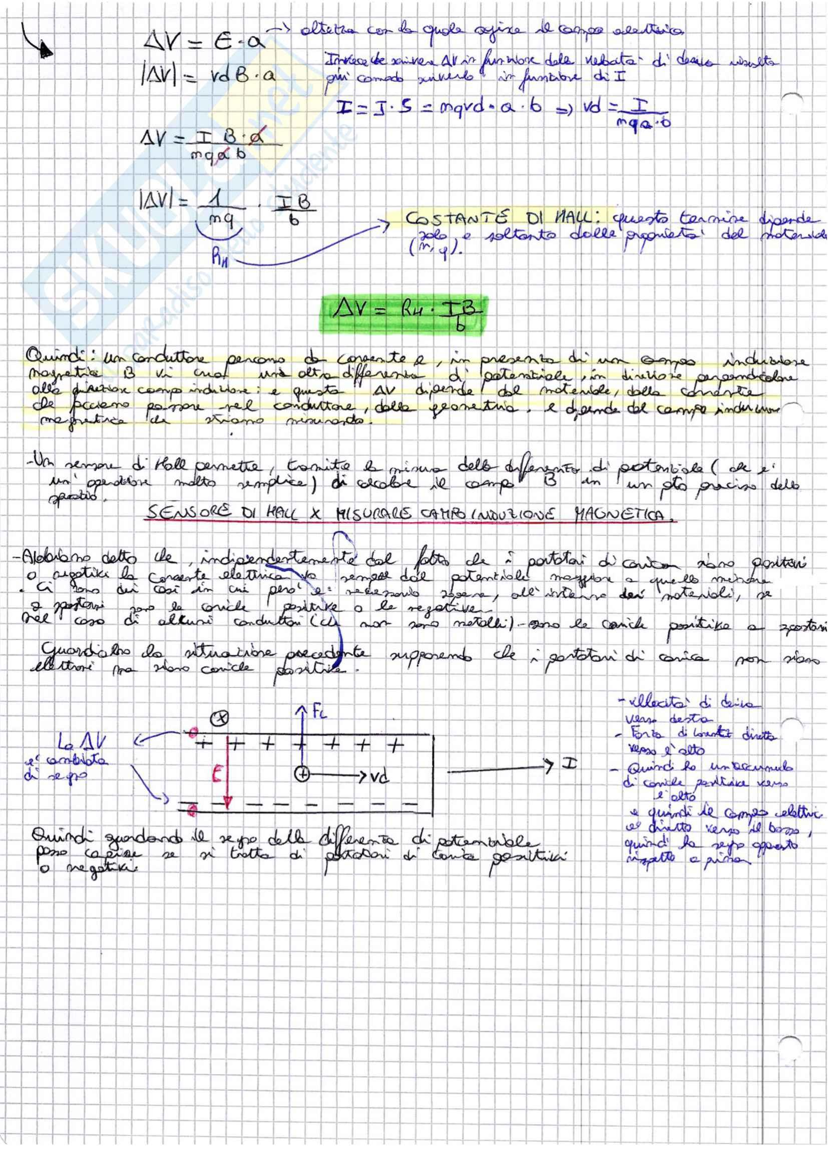 Magnetismo - fisica 2, appunti tratti dal corso prof. Minzioni, unipv Bioingegneria Pag. 16