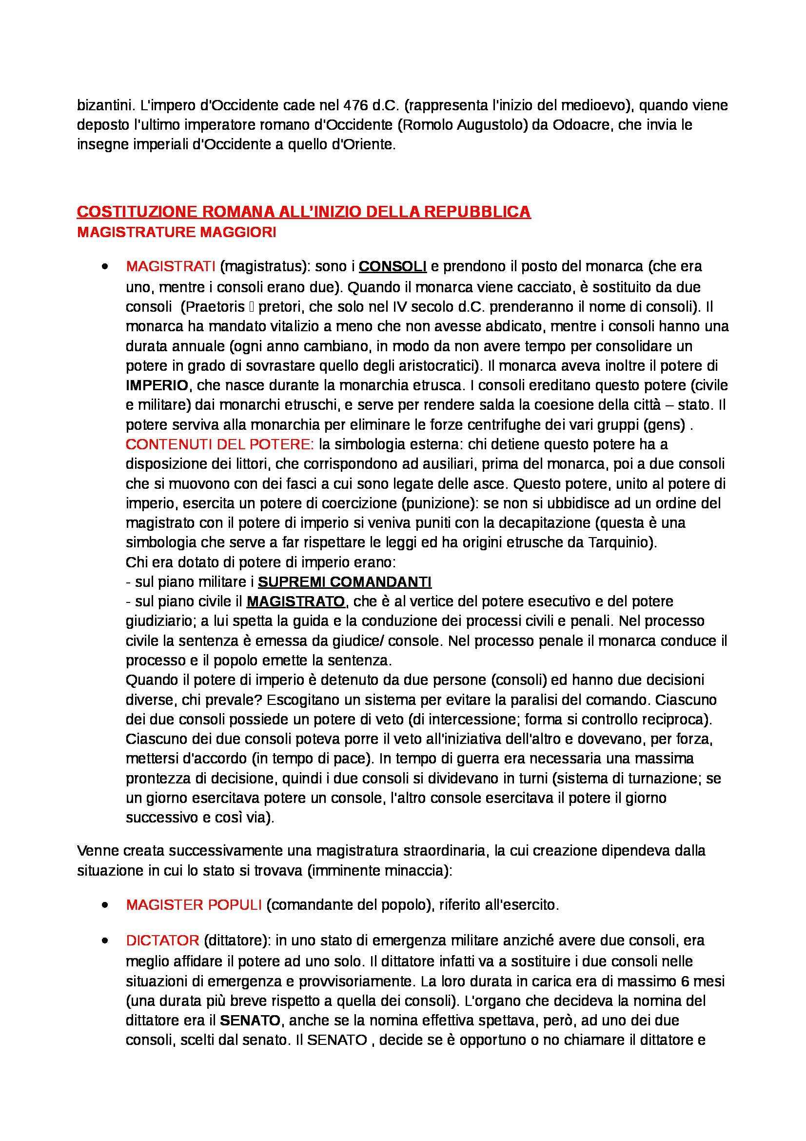 Storia del diritto romano - Appunti Pag. 2