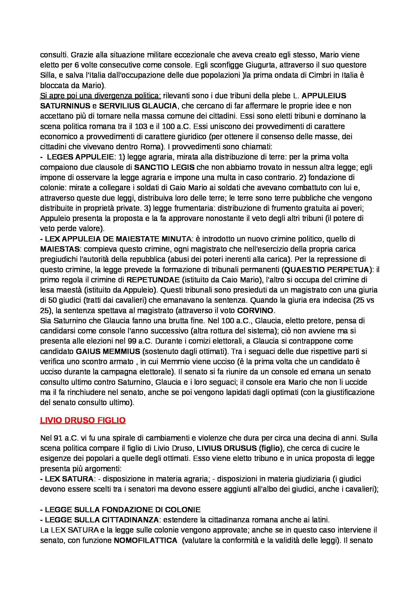 Storia del diritto romano - Appunti Pag. 36