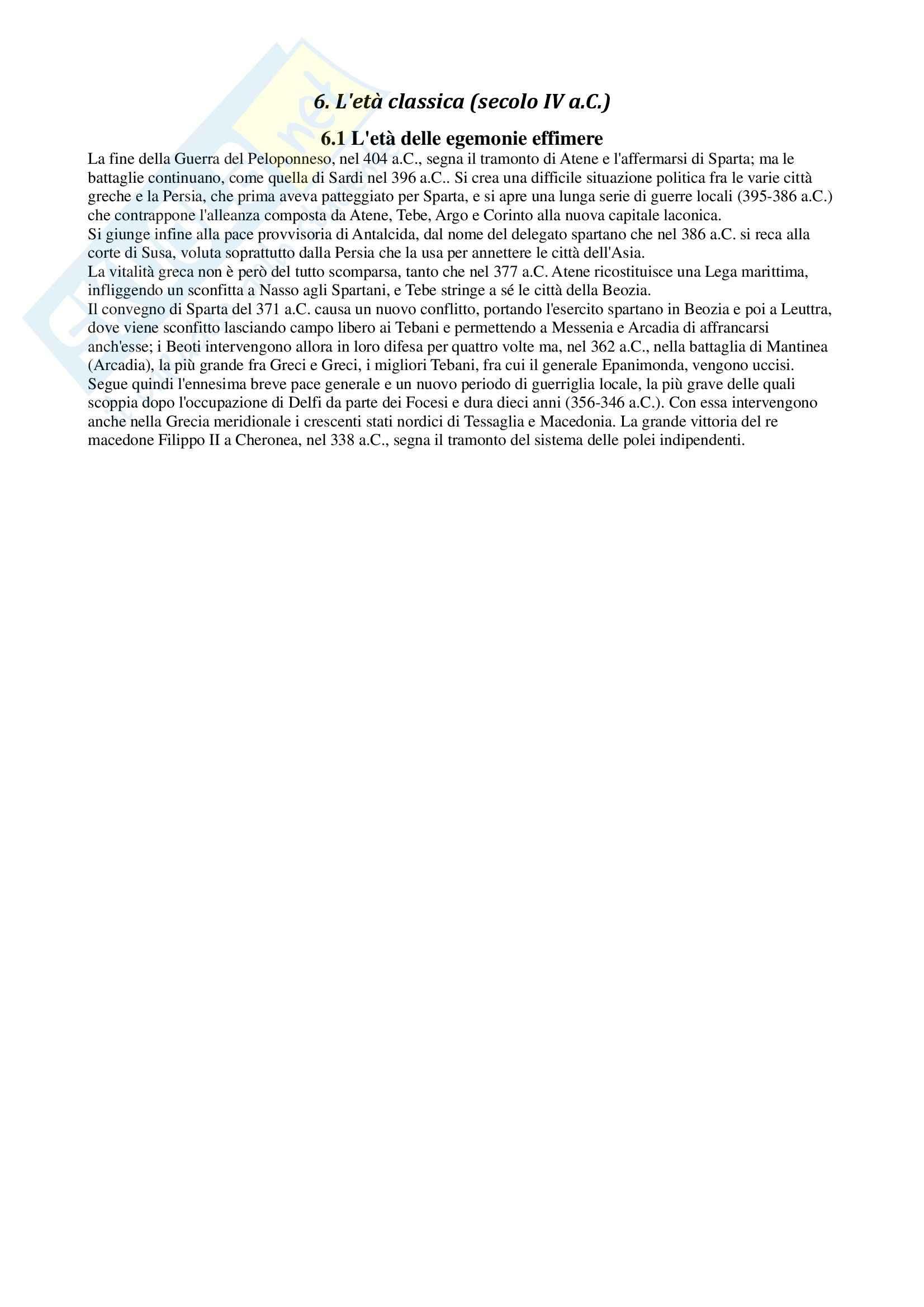 Riassunto esame Storia dell'arte greca, prof. Angiolillo, libro consigliato Arte greca, dal X al I secolo a.C, Bejor, Castoldi e Lamburgo Pag. 66