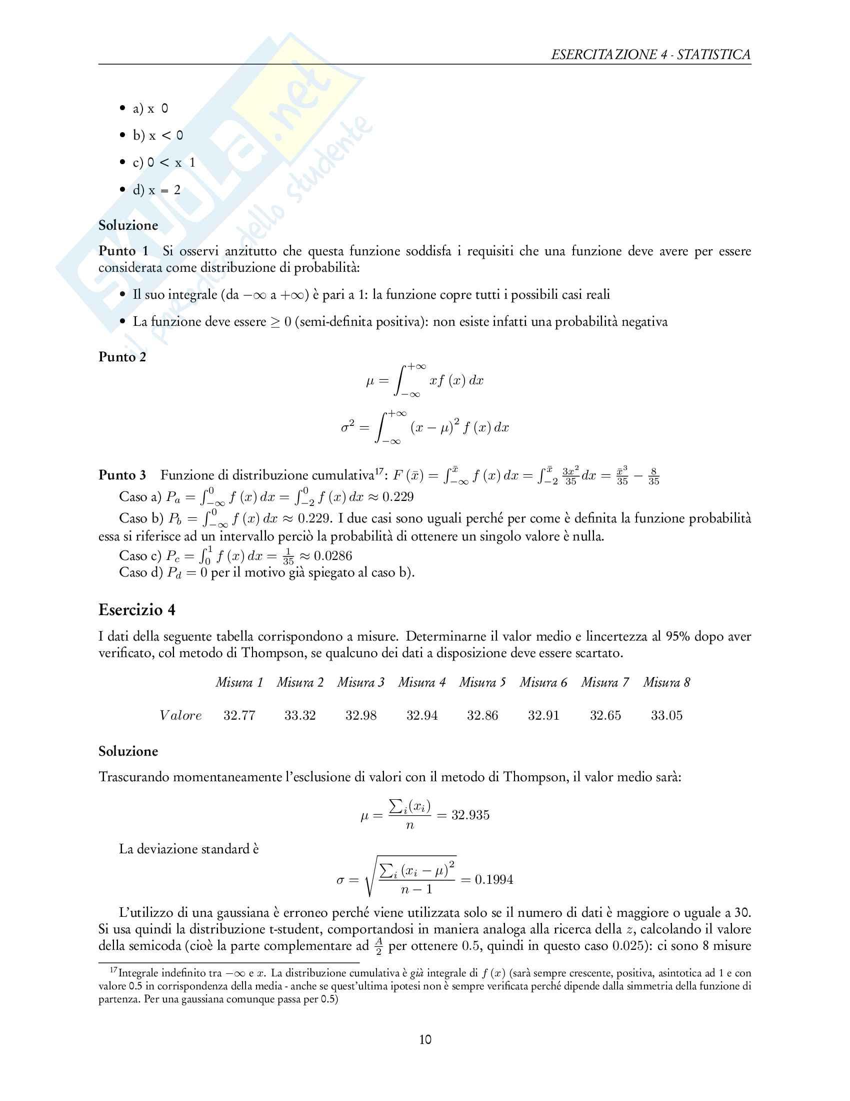 Esercitazioni di Sperimentazione Aerospaziale Pag. 11