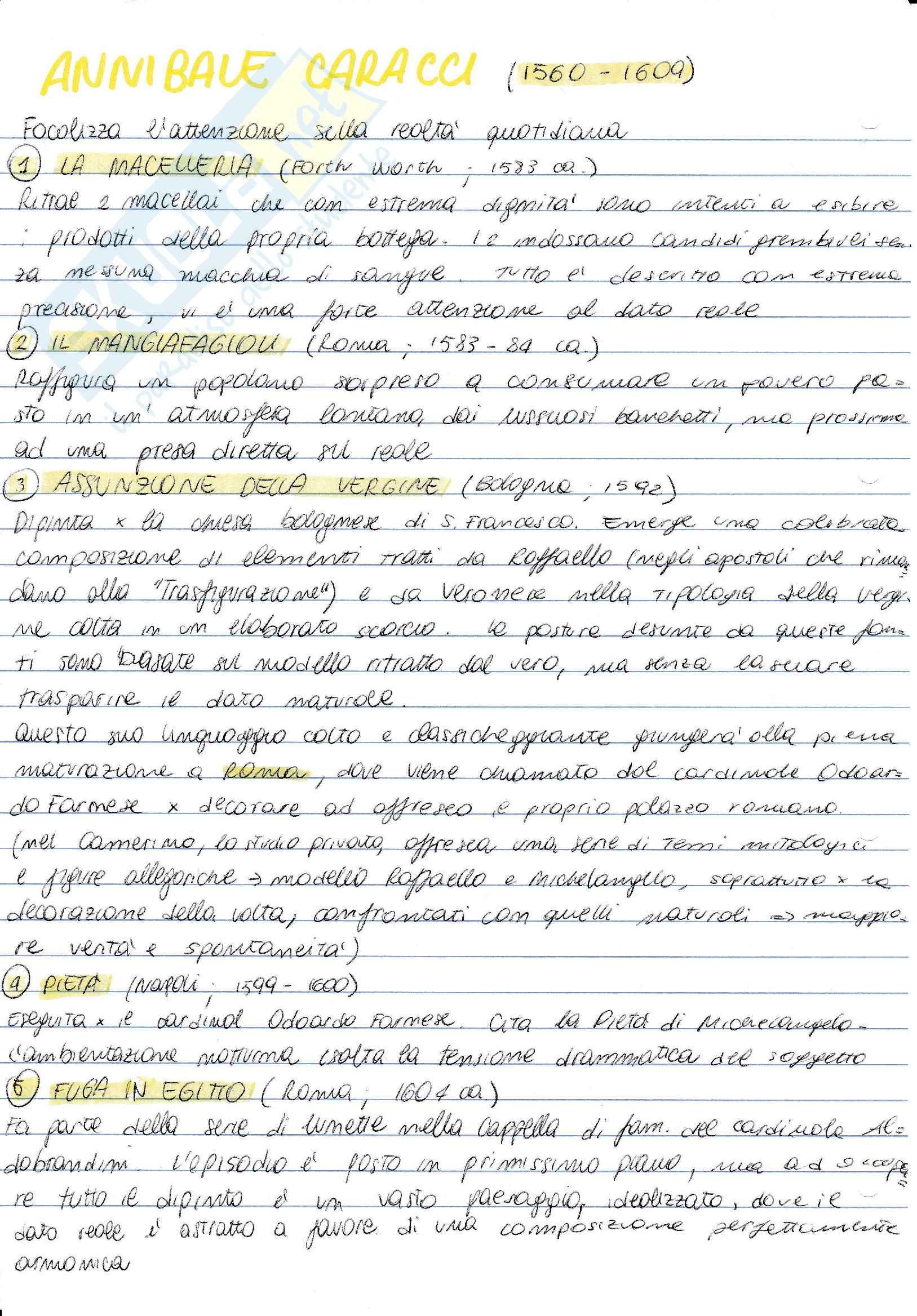 Storia dell'arte moderna - Barocco e Rococò Pag. 2