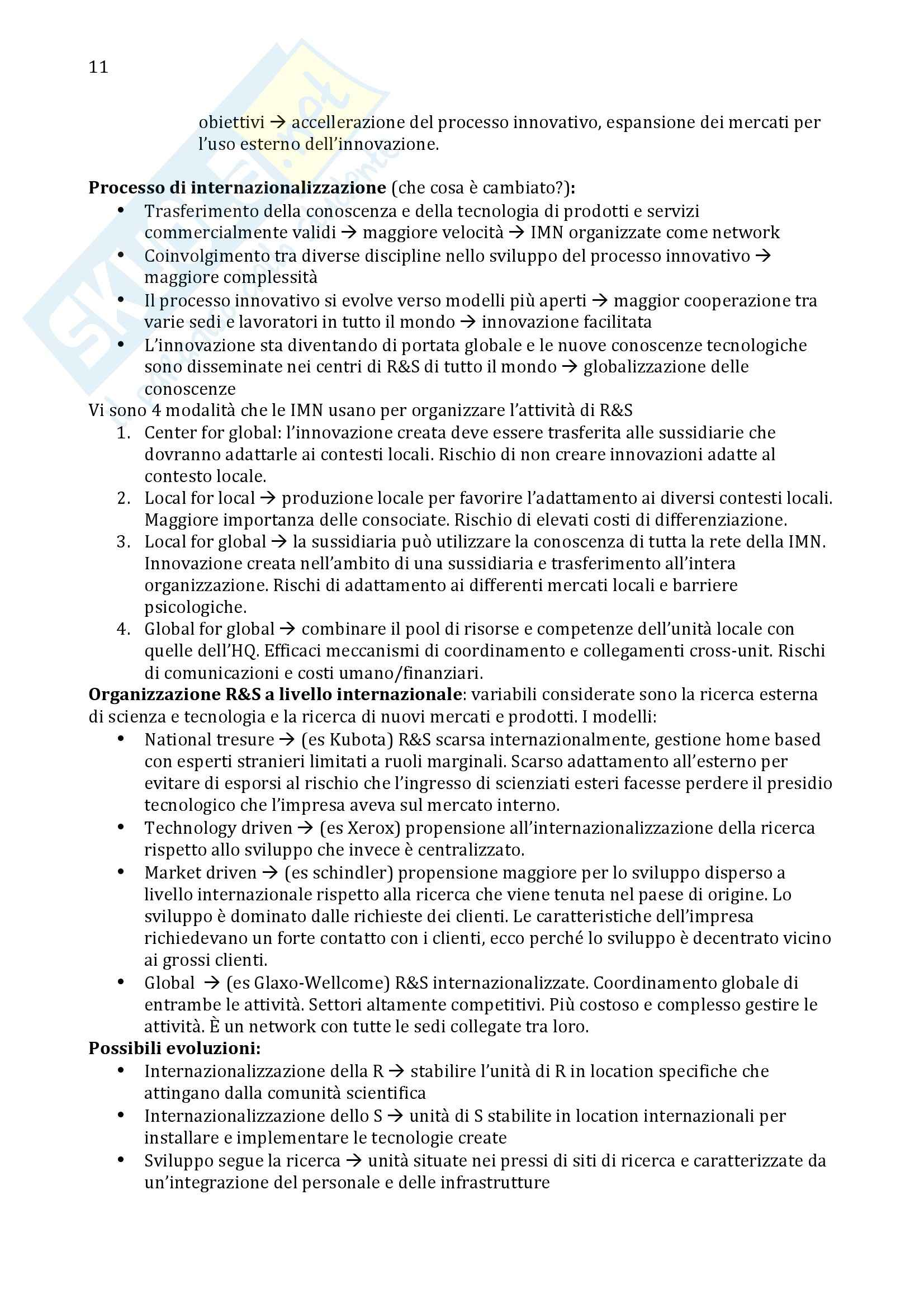 Economia e gestione dell'innovazione - Appunti Pag. 11