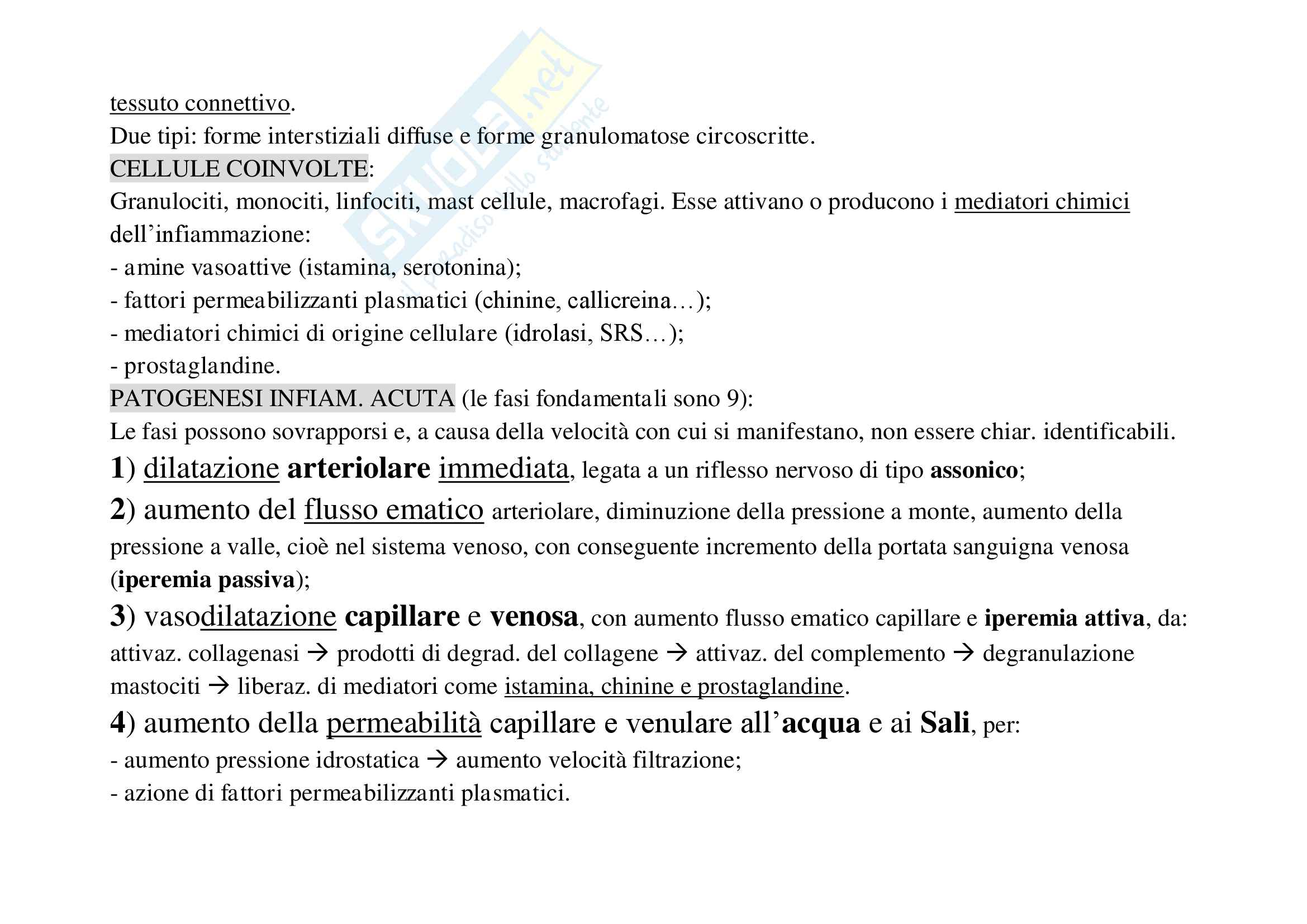 Schemi patologia generale Pag. 16