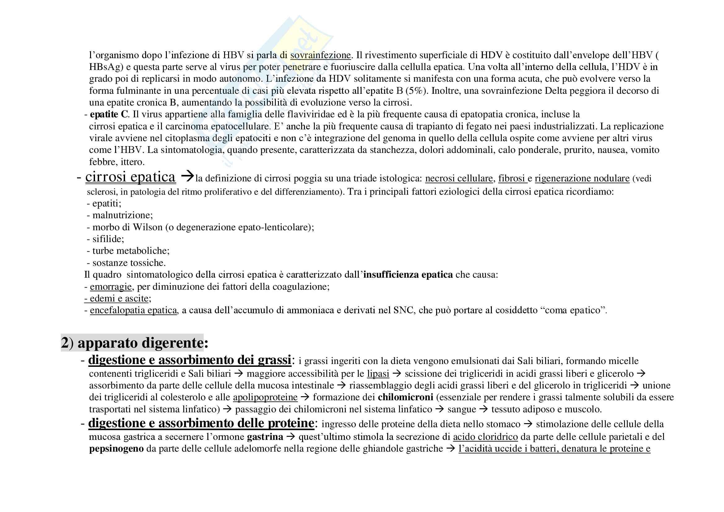 Schemi patologia generale Pag. 71