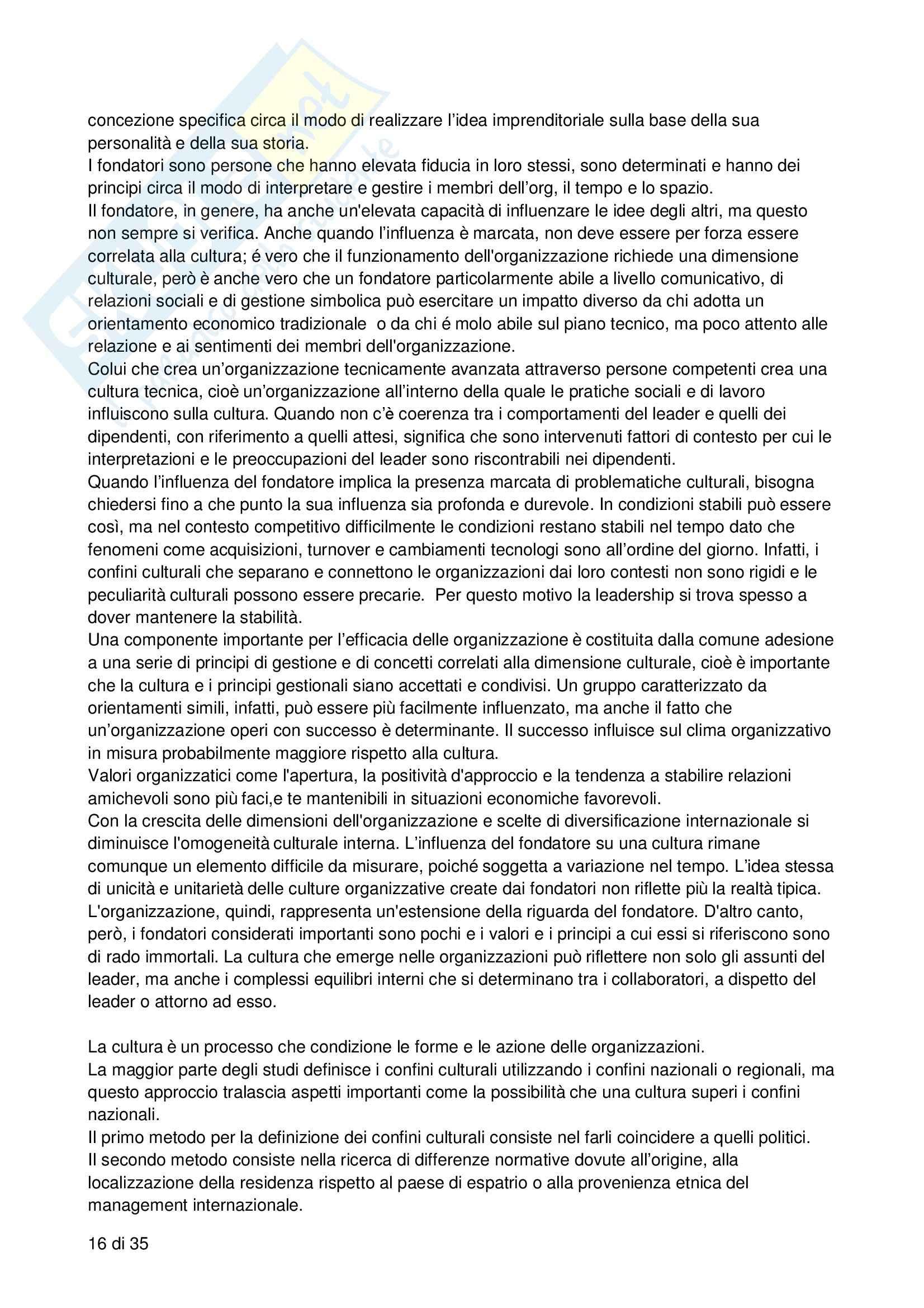 Riassunto esame Processi decisionali, negoziazione e leadership, prof. Bodega, libro consigliato Forme di leadership, Bodega Pag. 16
