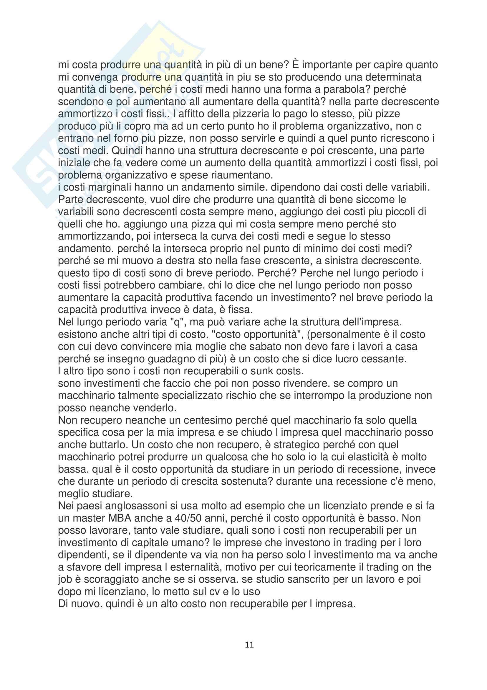 Appunti dinamiche industriali Pag. 11