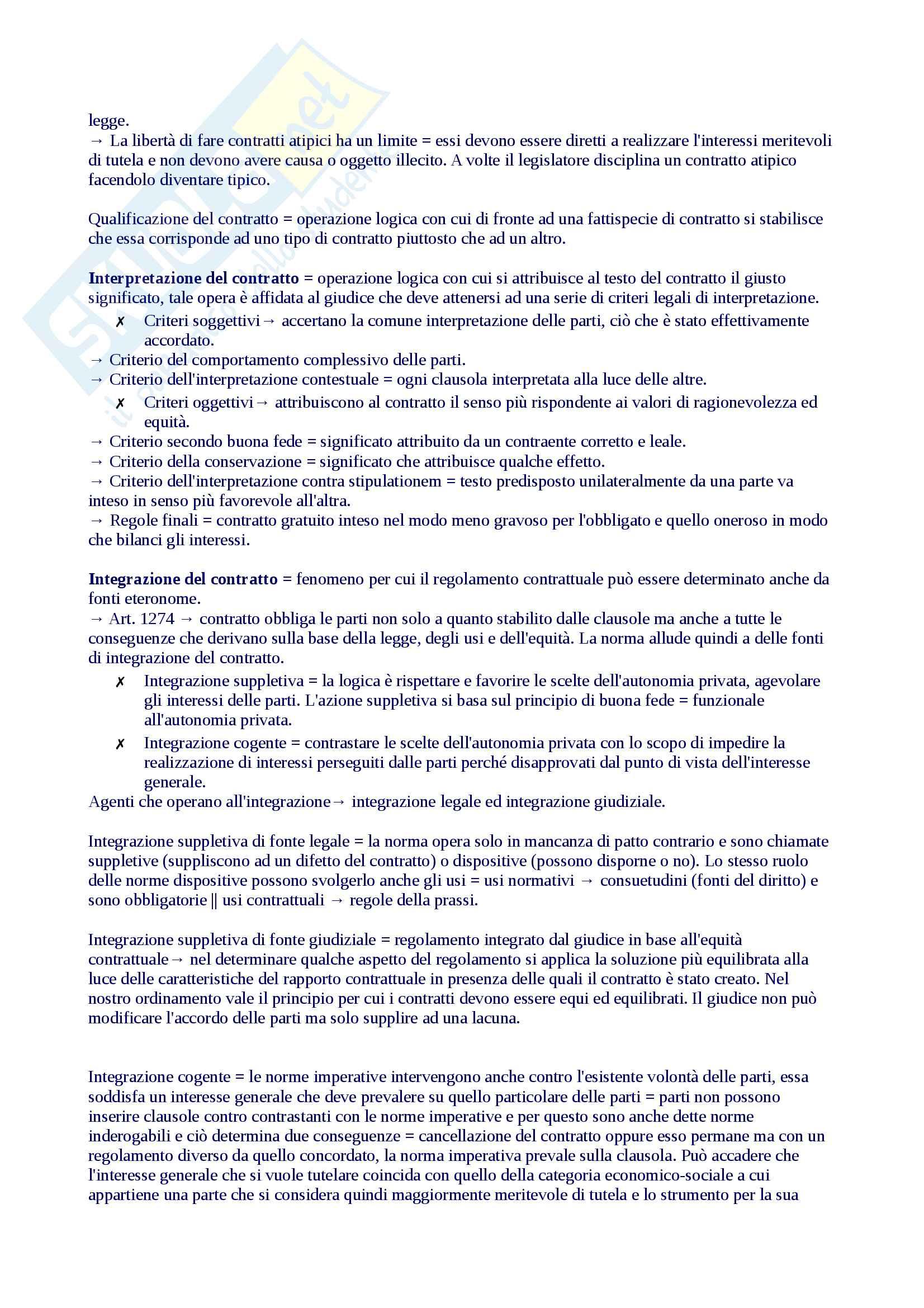 Riassunto diritto privato 1, libro consigliato Roppo Pag. 31