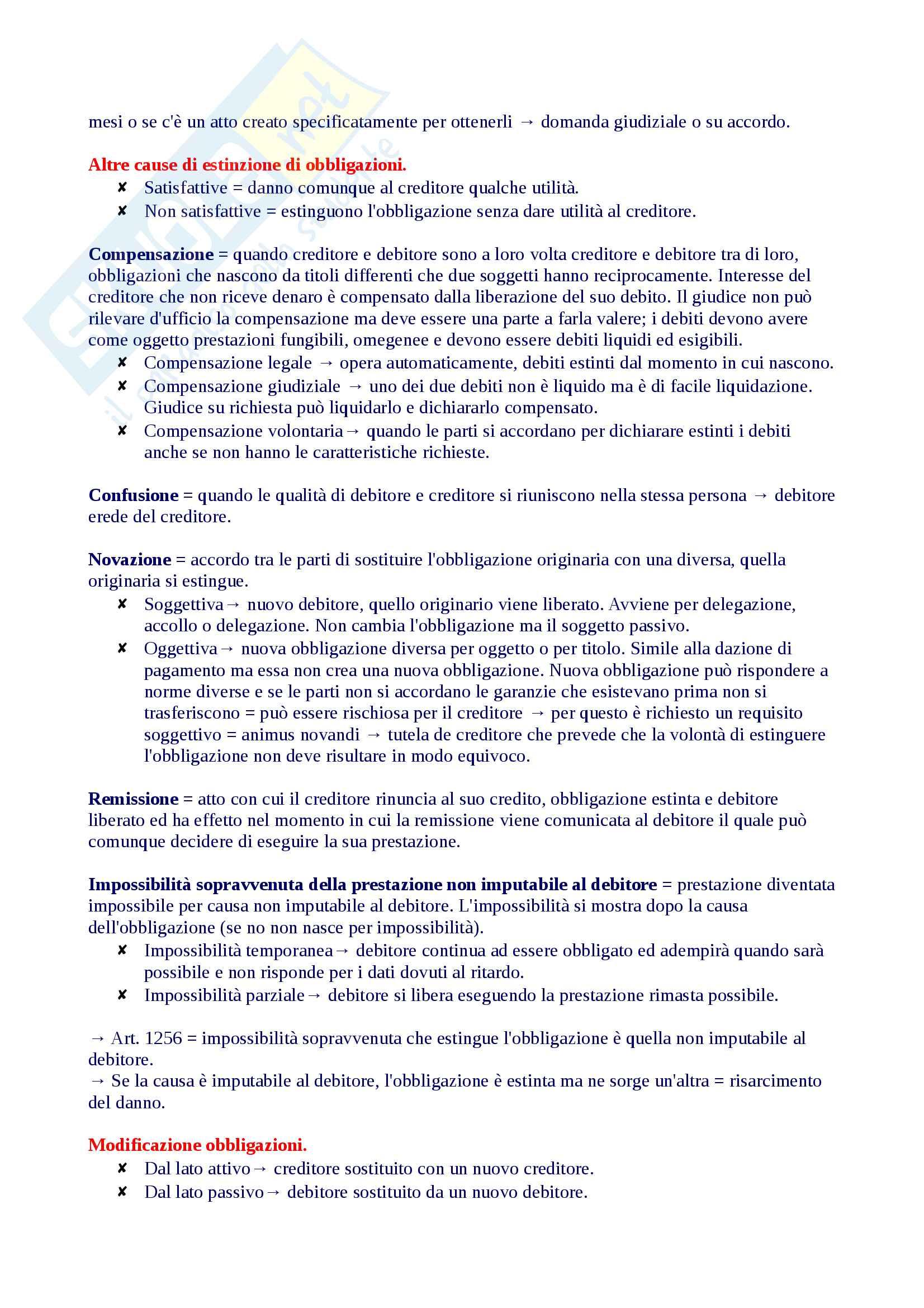 Riassunto diritto privato 1, libro consigliato Roppo Pag. 46