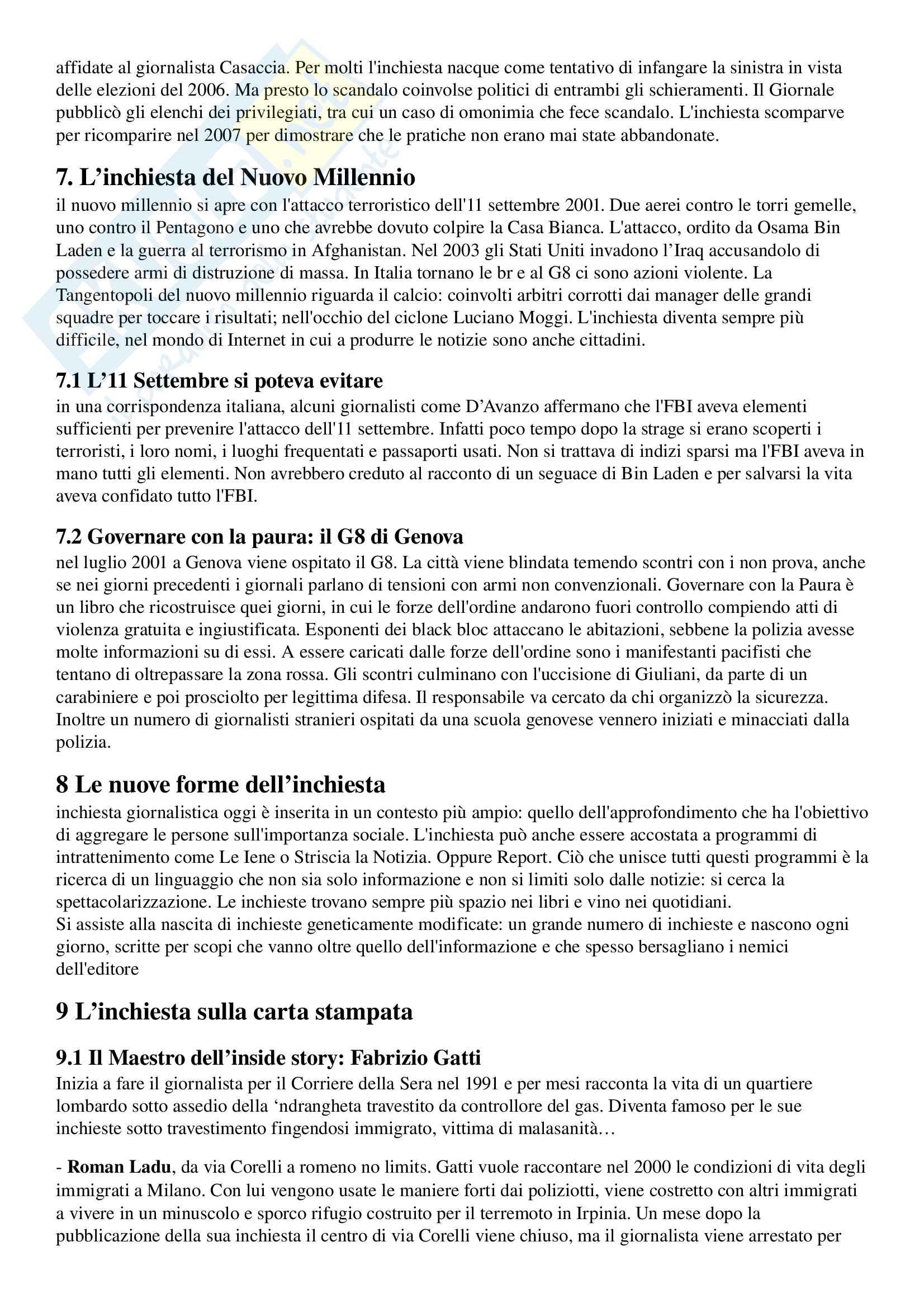 Appunti esame di Storia del Giornalismo, prof Ferrari, libro consigliato 'Gioco e Fuorigioco, Massimo Ferrari' Pag. 61