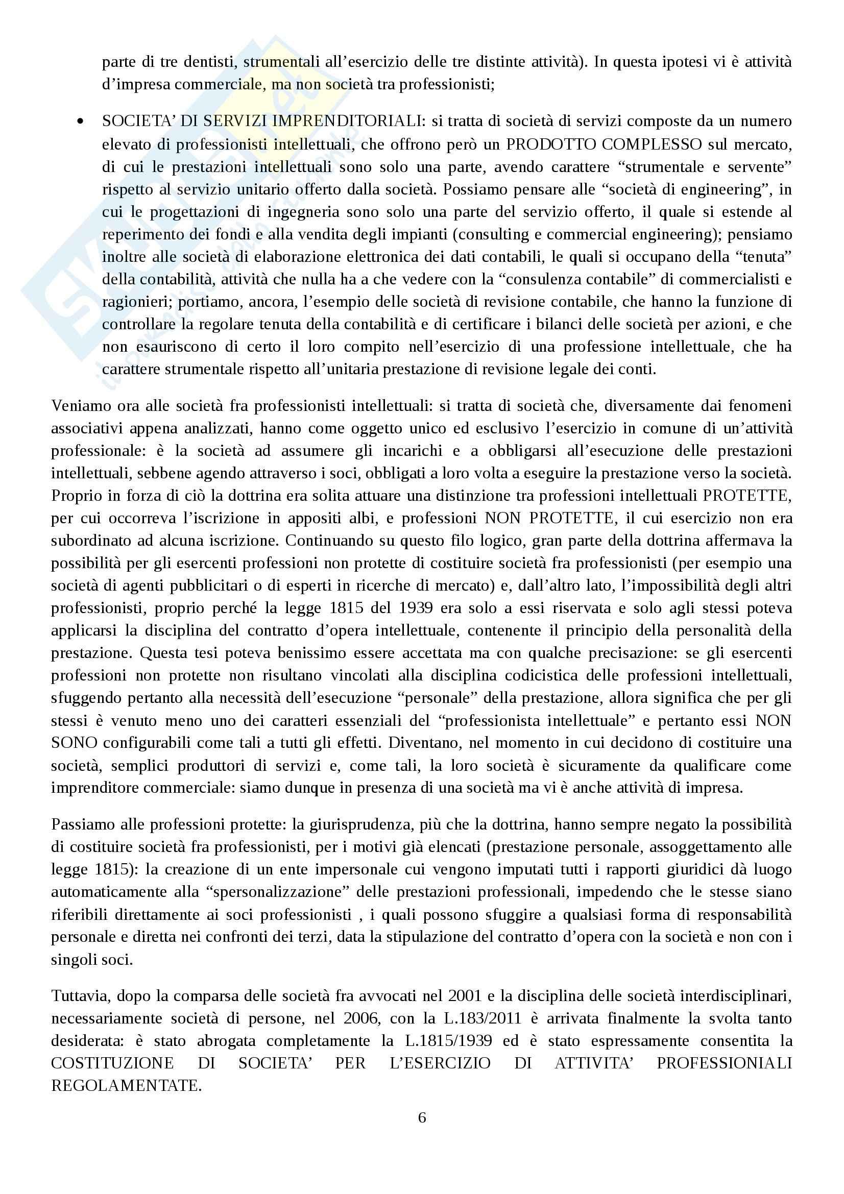 Riassunto esame Diritto commerciale, prof. Rocchi, libro consigliato Diritto delle società, Campobasso Pag. 6