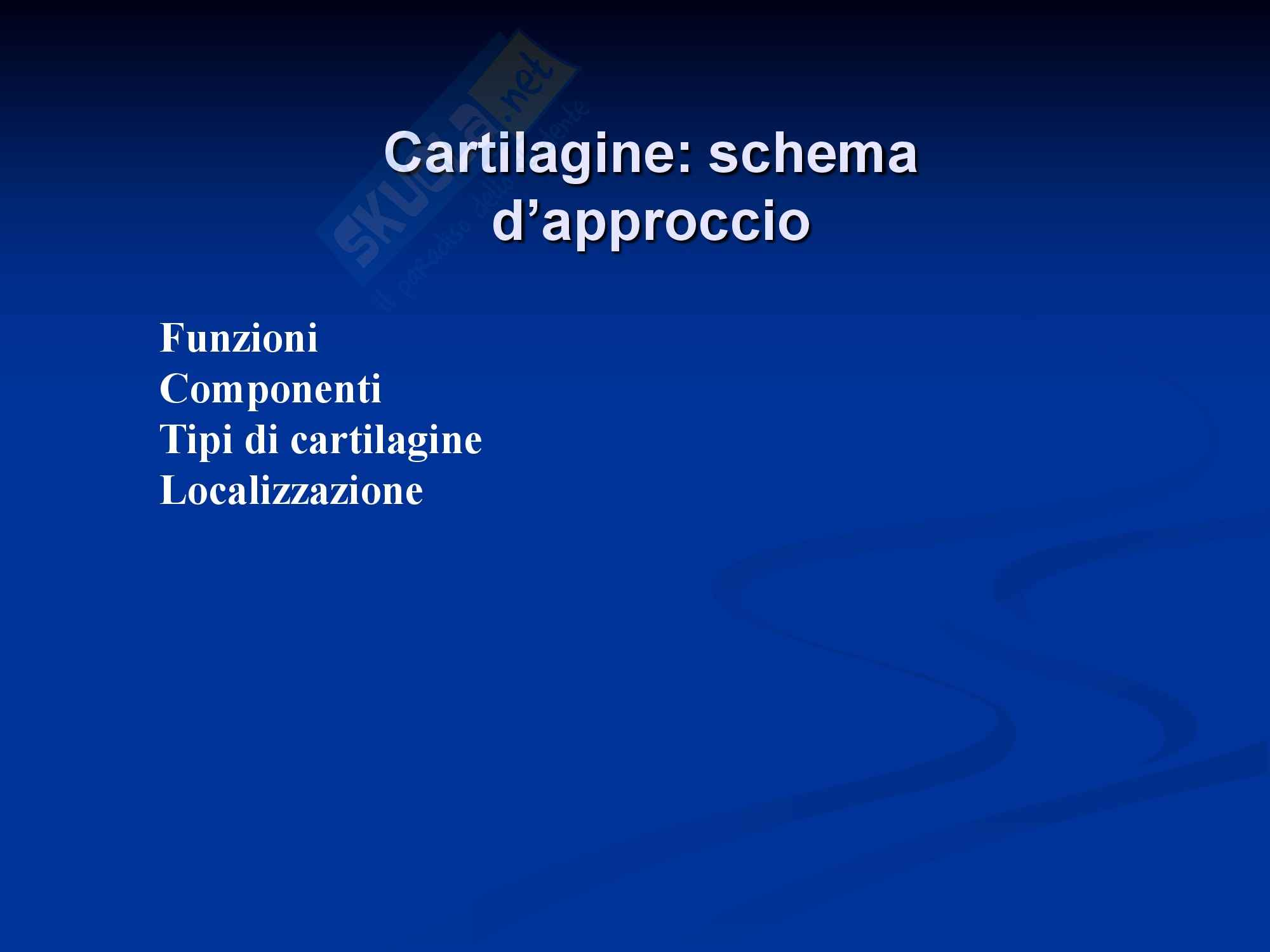 Tessuto cartilagineo e tessuto adiposo