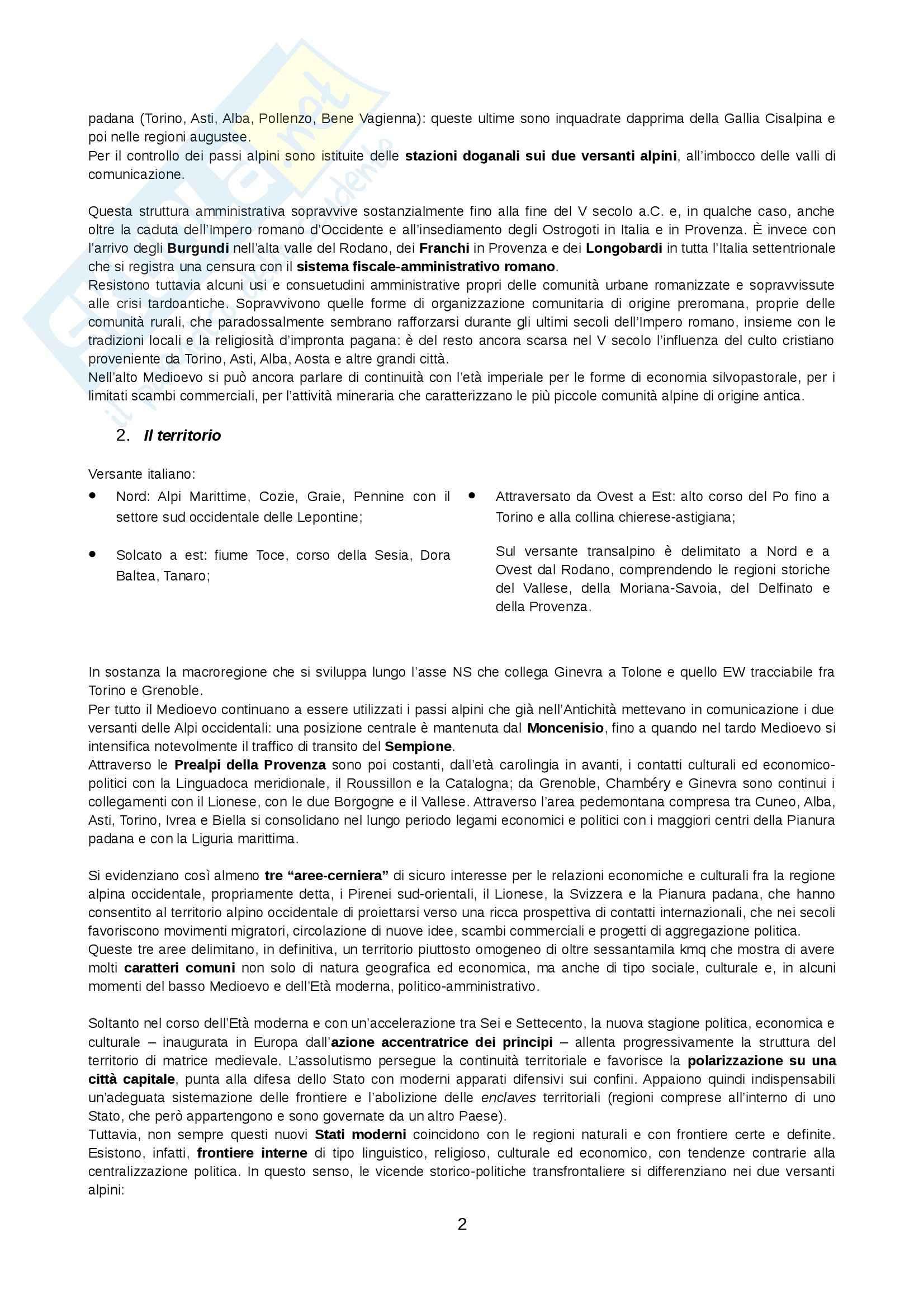 Lezioni, Storie e culture di una regione europea Pag. 2