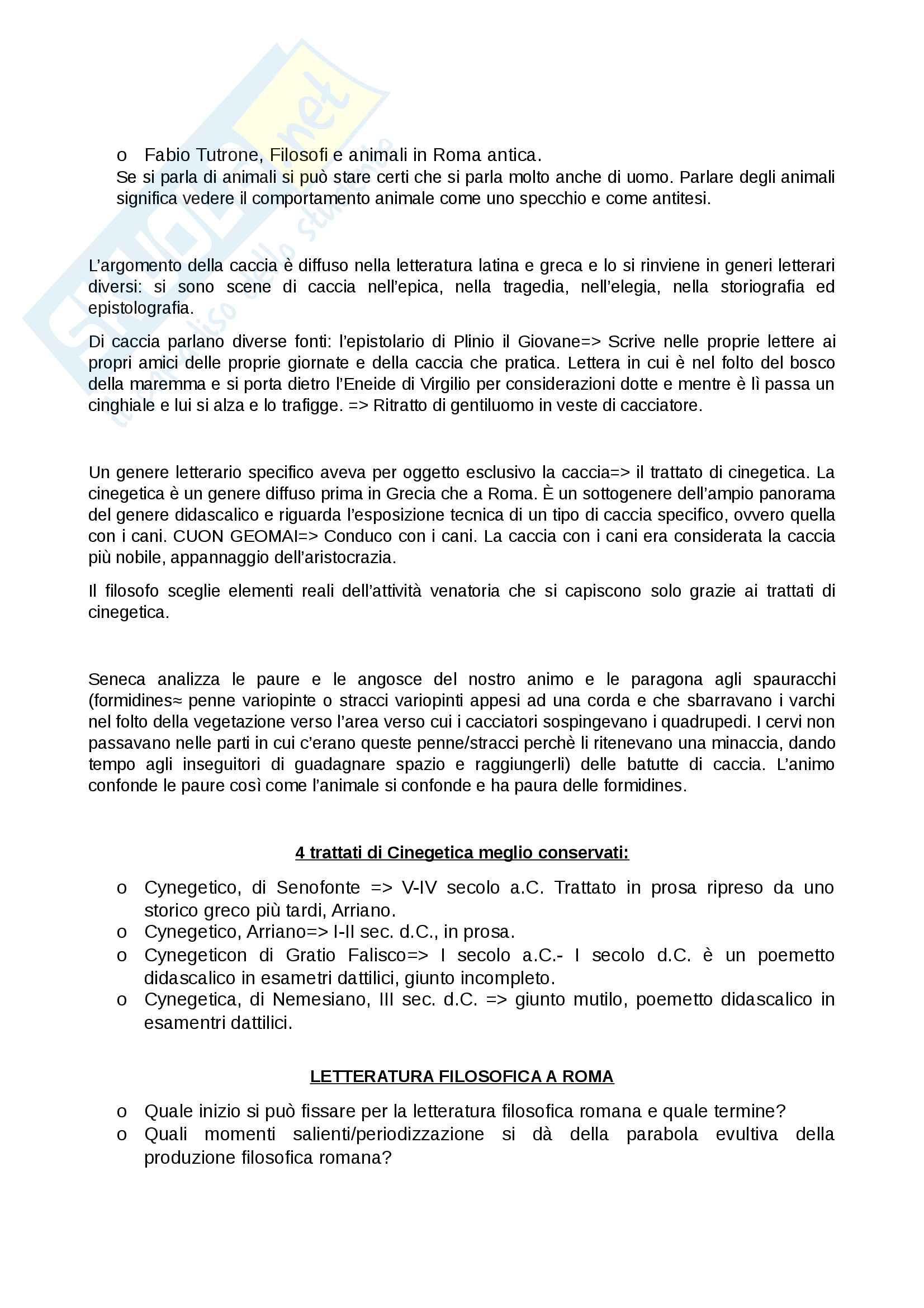 Appunti completi primo semestre letteratura latina II Pag. 6