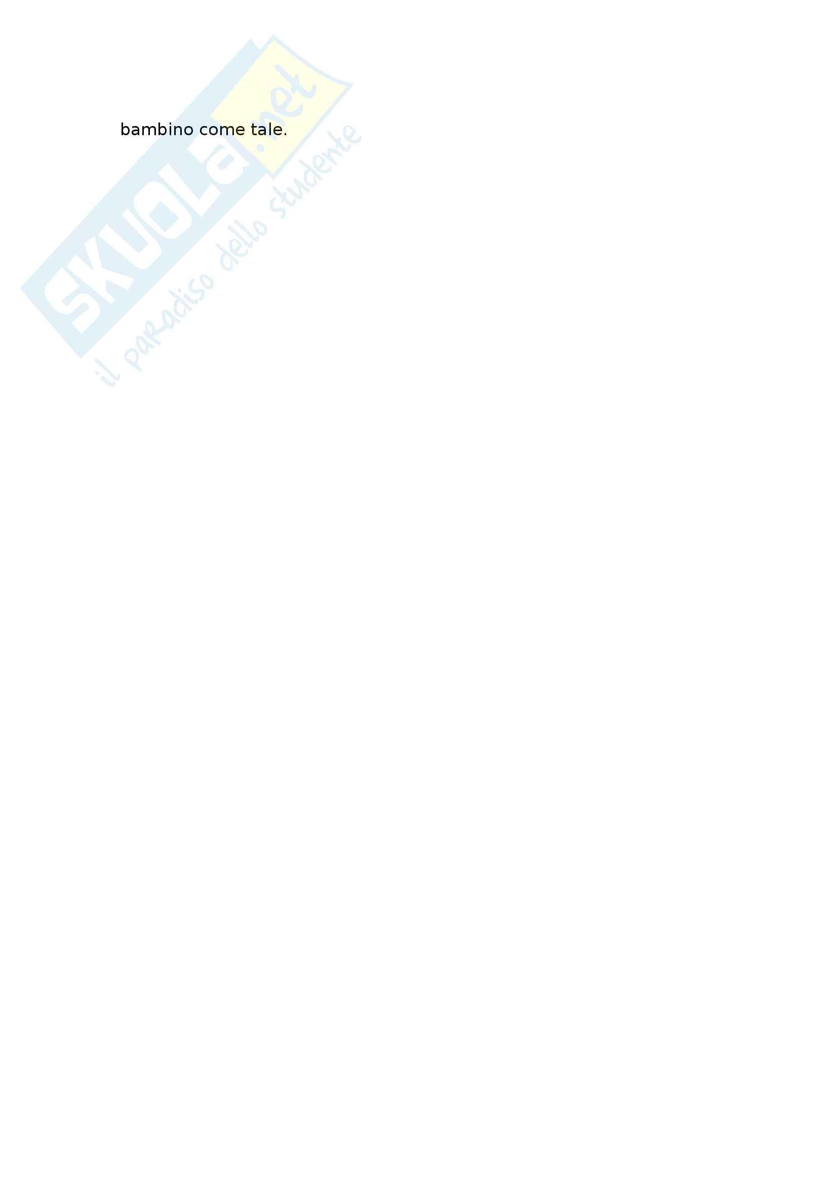 Riassunto esame storia dell'educazione e dell'infanzia, prof. Merlo, libro consigliato Padri e figli nell'Europa medievale e moderna, Philippe Ariès Pag. 6