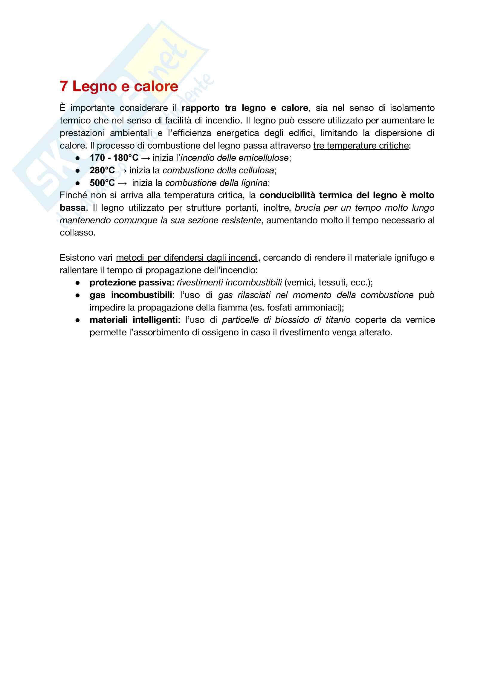 Riassunto esame Tecnologia del Legno, prof. Marco Fioravanti, basato su appunti presi a lezione e dispense del professore Pag. 21