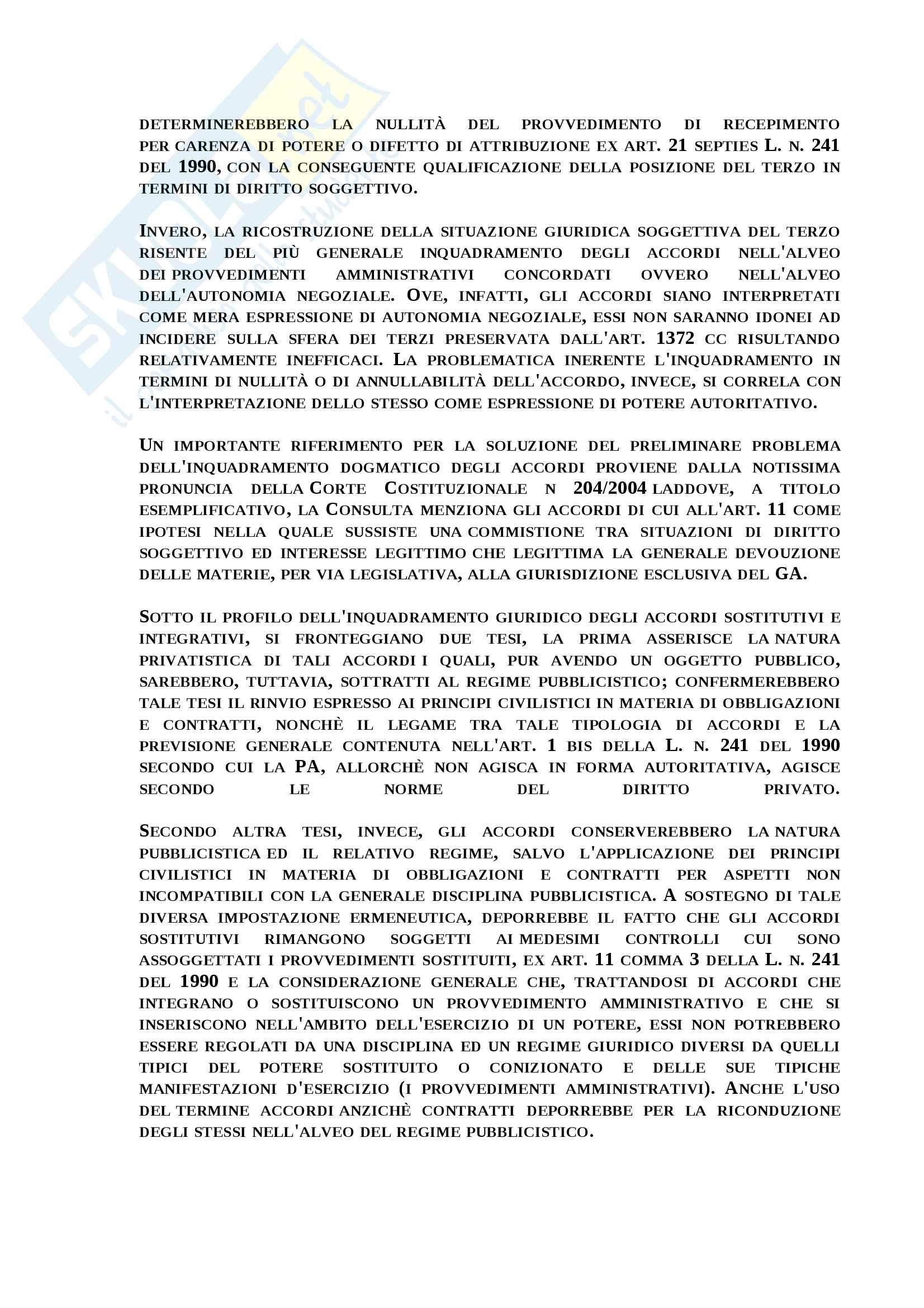 Atti autoritativi - atti non autoritativi PA Pag. 6