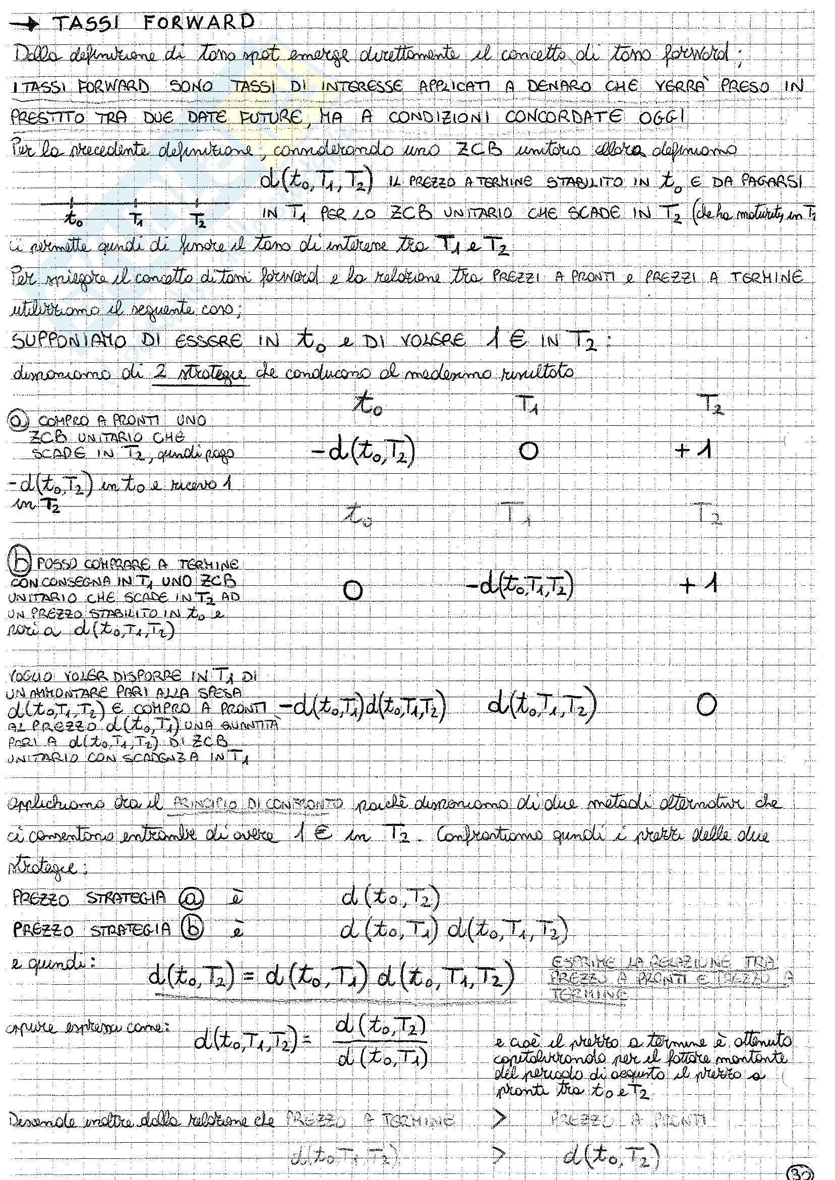 Matematica finanziaria - Appunti parte 2 Pag. 6