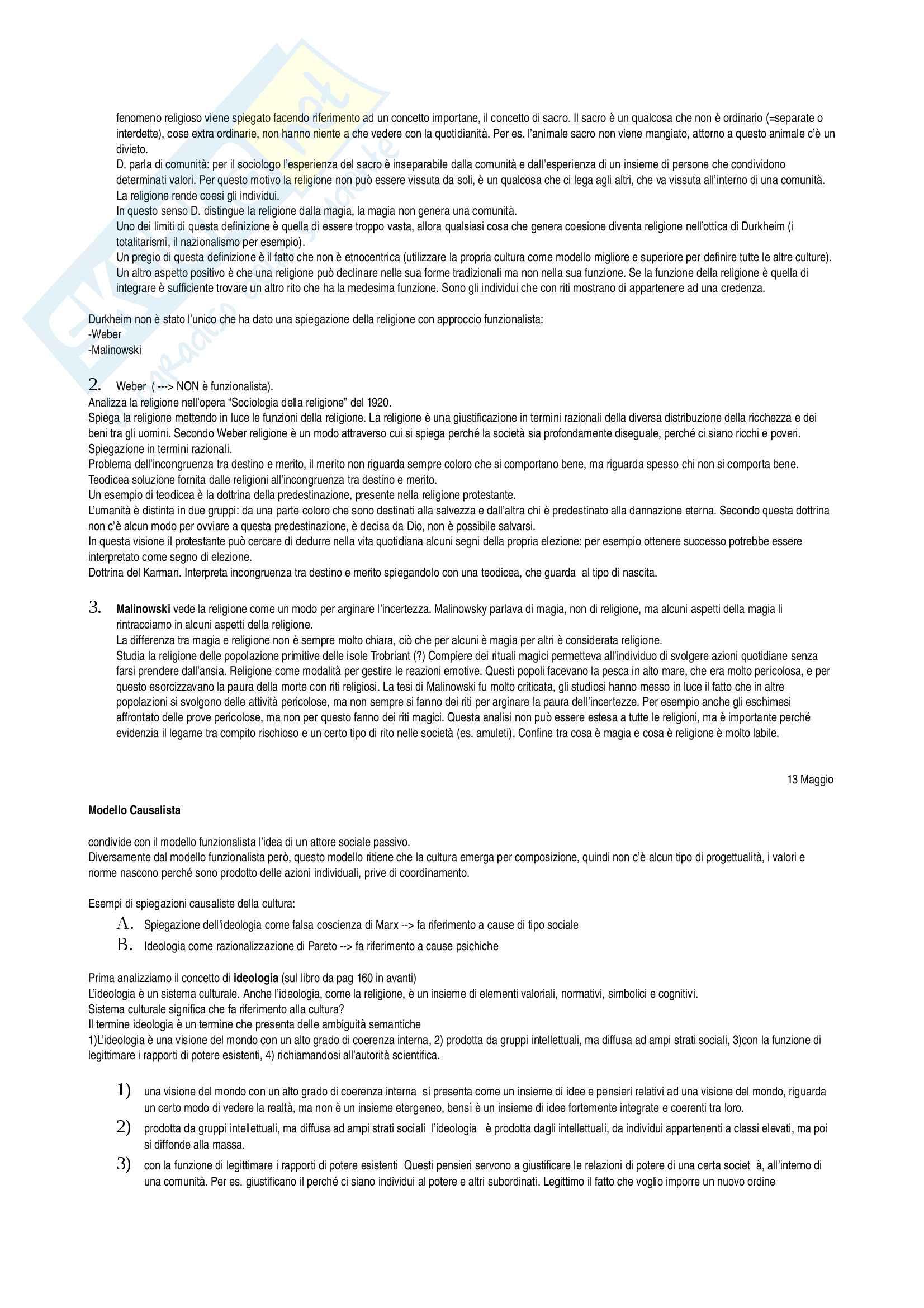 Istituzioni di sociologia II Pag. 16