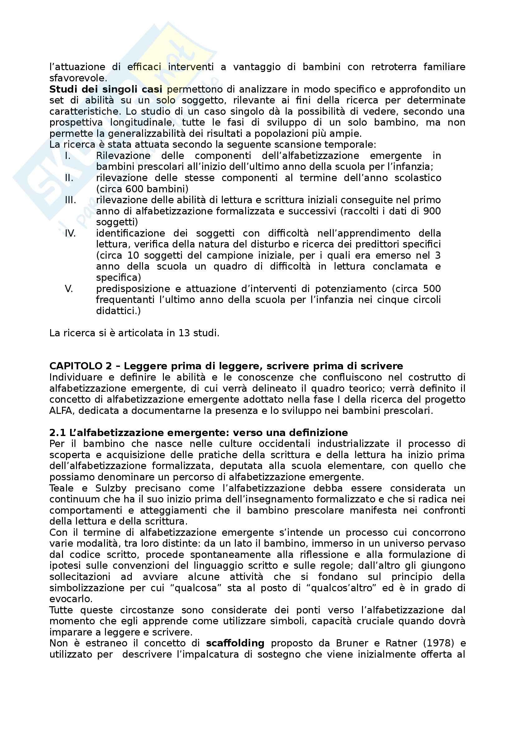 Riassunto esame Psicologia dell'Educazione, prof. Pinto, libro consigliato Il Suono, il Segno e il Significato di Pinto Pag. 6