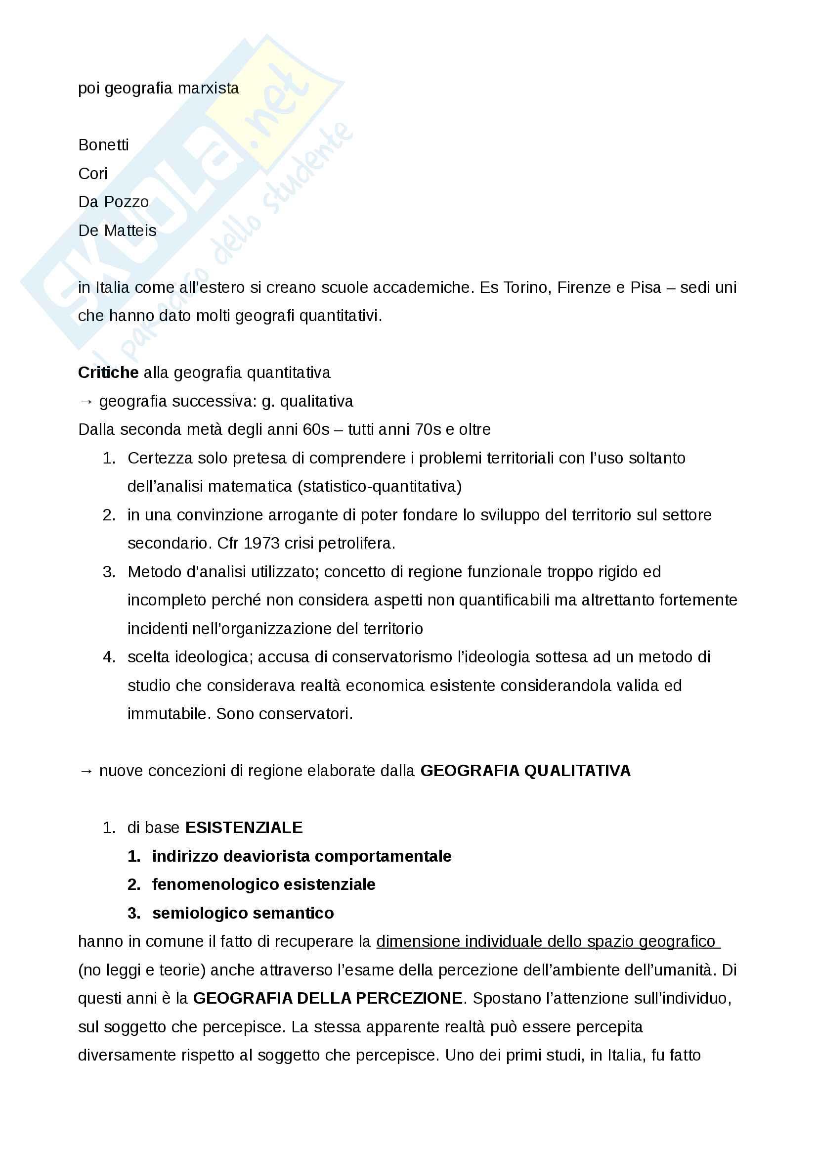 Appunti geografia modulo A - storia della geografia Pag. 21