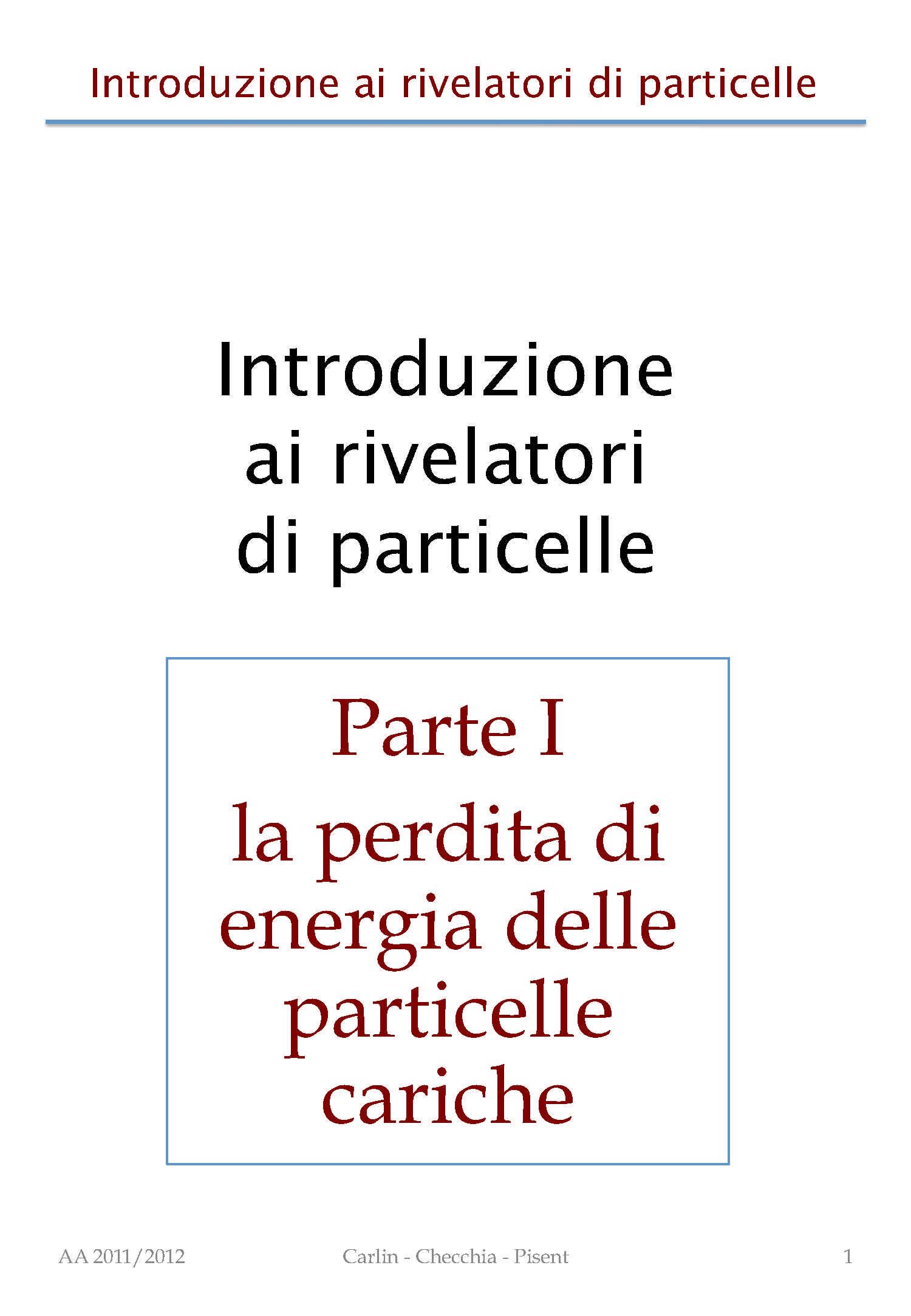 Sorgenti di particelle e acceleratori