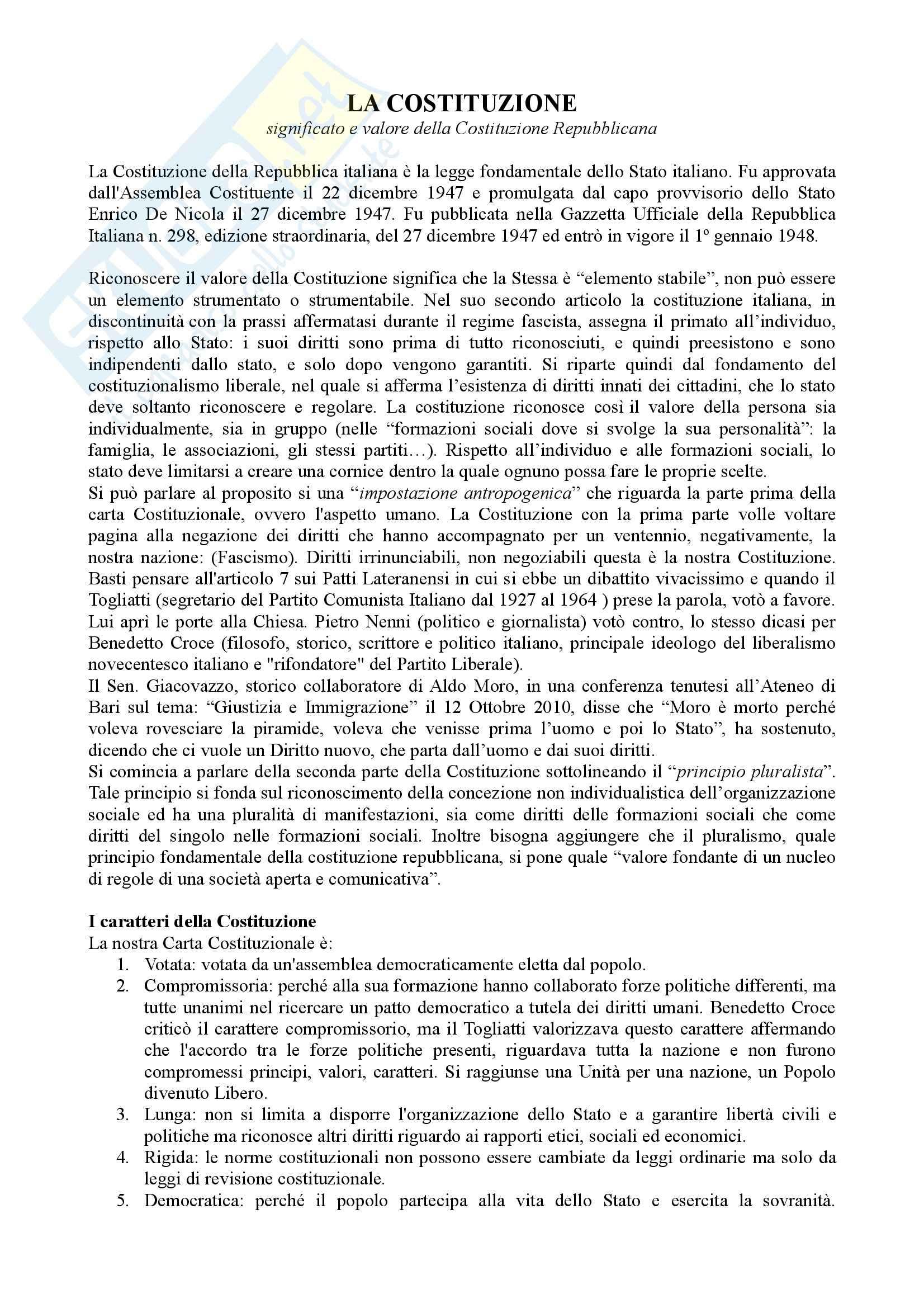 appunto M. Cifelli Procedura penale