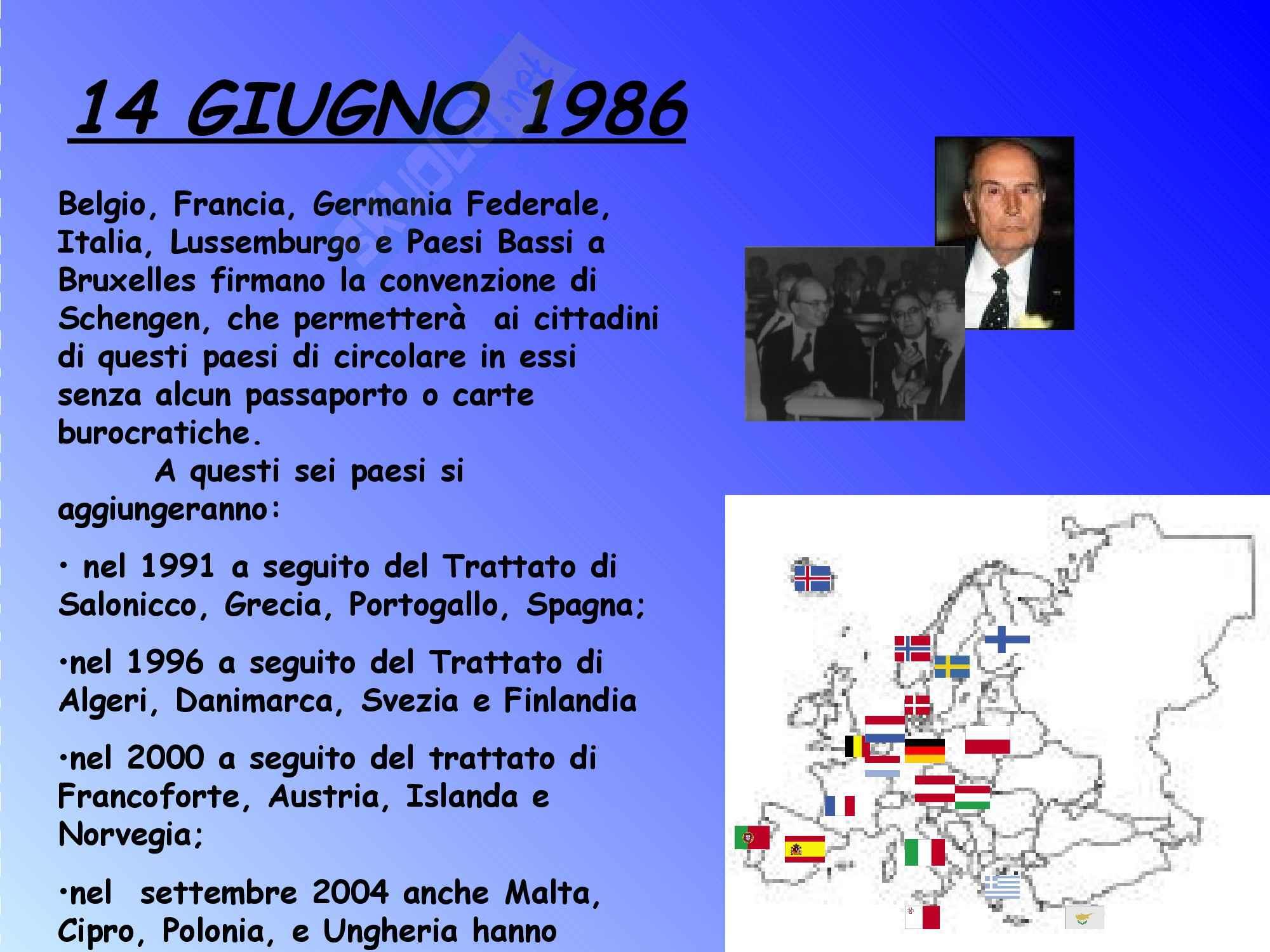 Diritto dell'Unione Europea - la storia dell'Unione Europea Pag. 11
