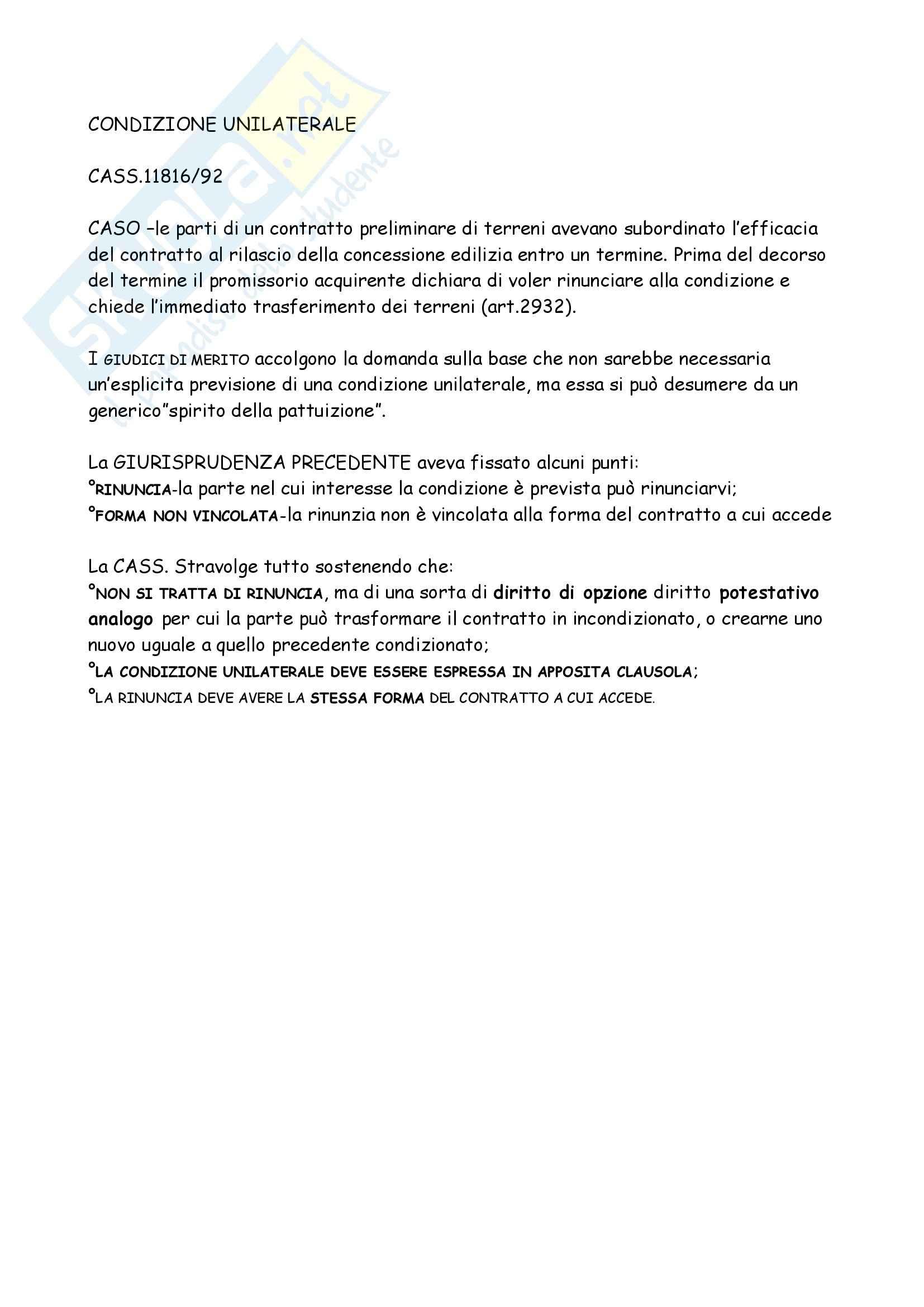 Diritto Civile - I contratti
