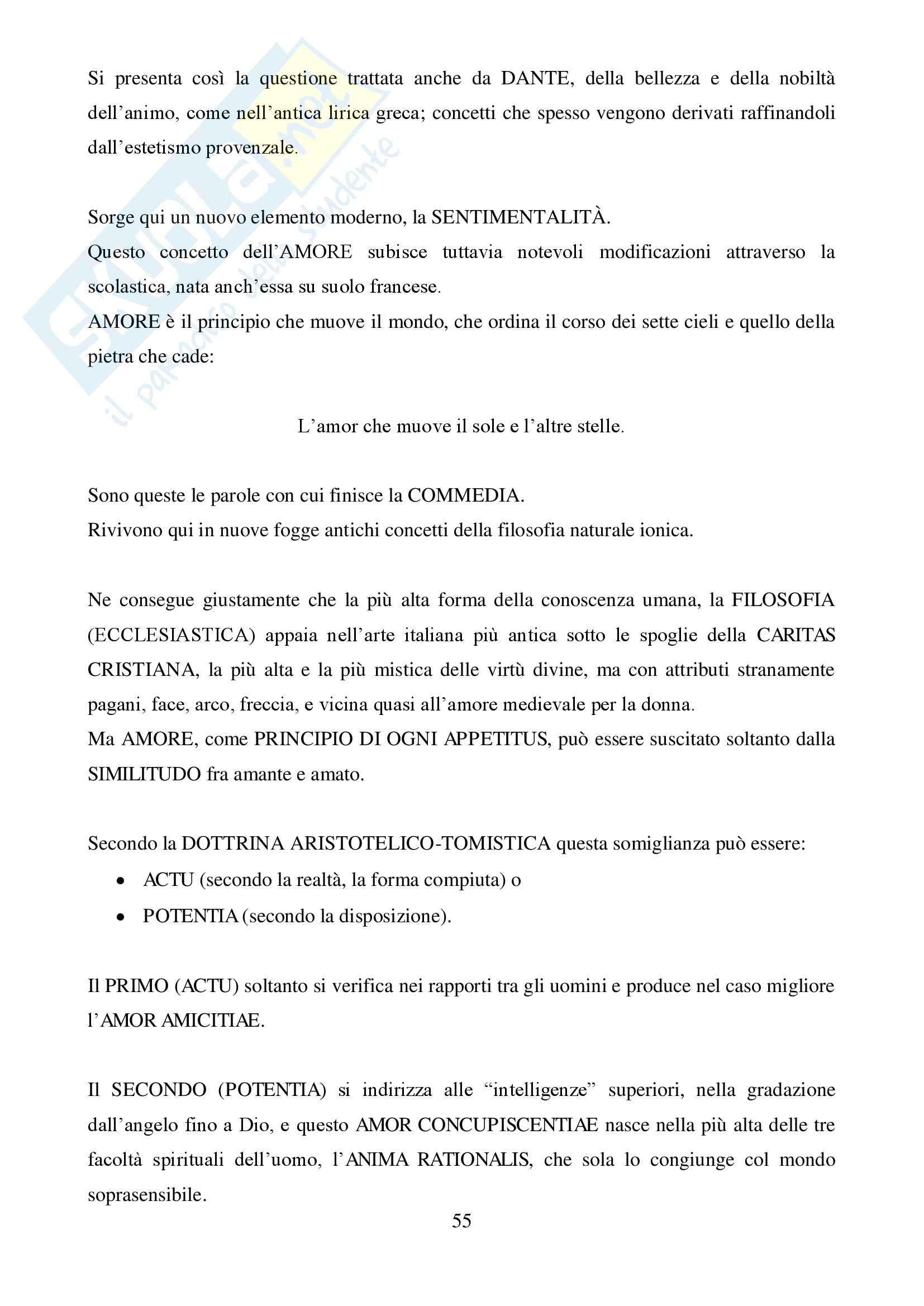 Riassunto esame Storia della Critica d'Arte, prof. Agosti, libro consigliato La letteratura artistica, Schlosser Magnino: Libro I Pag. 56
