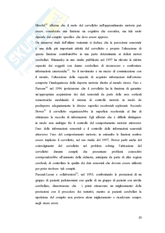 Tesi - Trattamento riabilitativo di un paziente con atrofia multisistemica: descrizione di un caso clinico Pag. 26