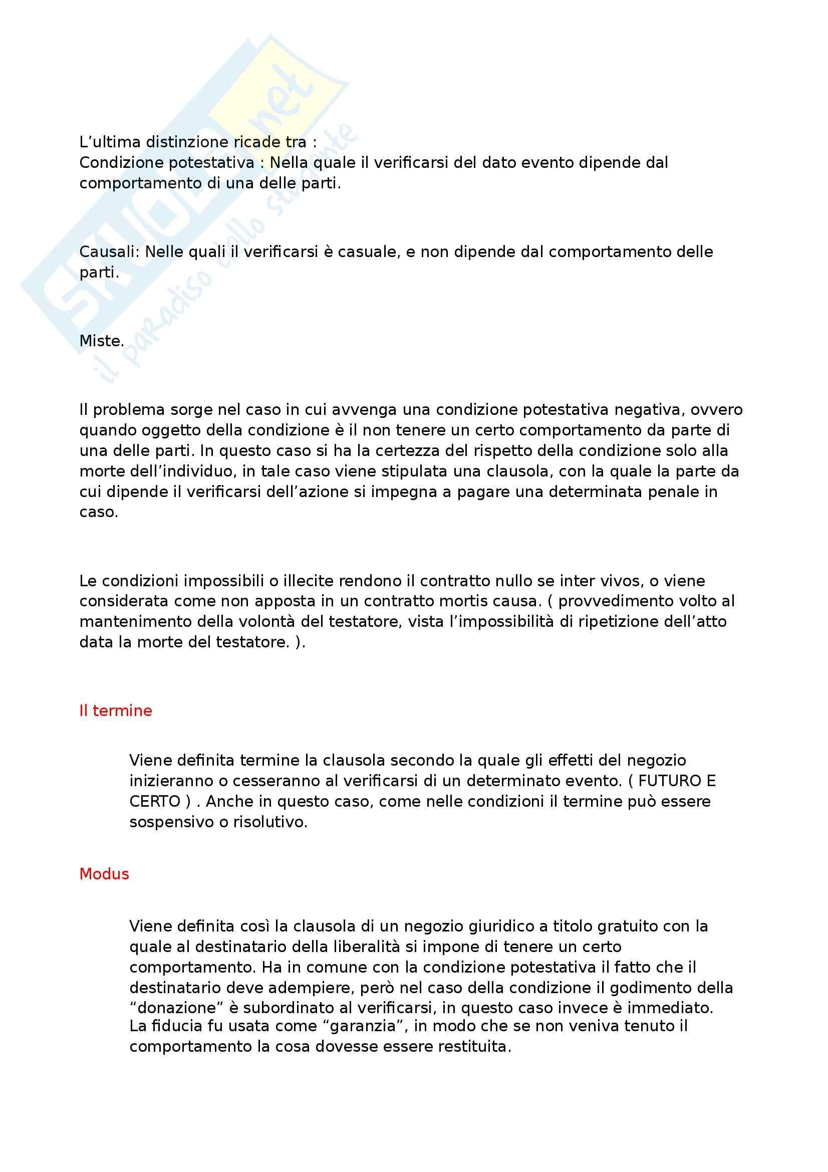 Riassunto esame Diritto Romano Privato, prof. Zuccotti, libro consigliato Istituzioni di Diritto Romano, Arangio Ruiz Pag. 6