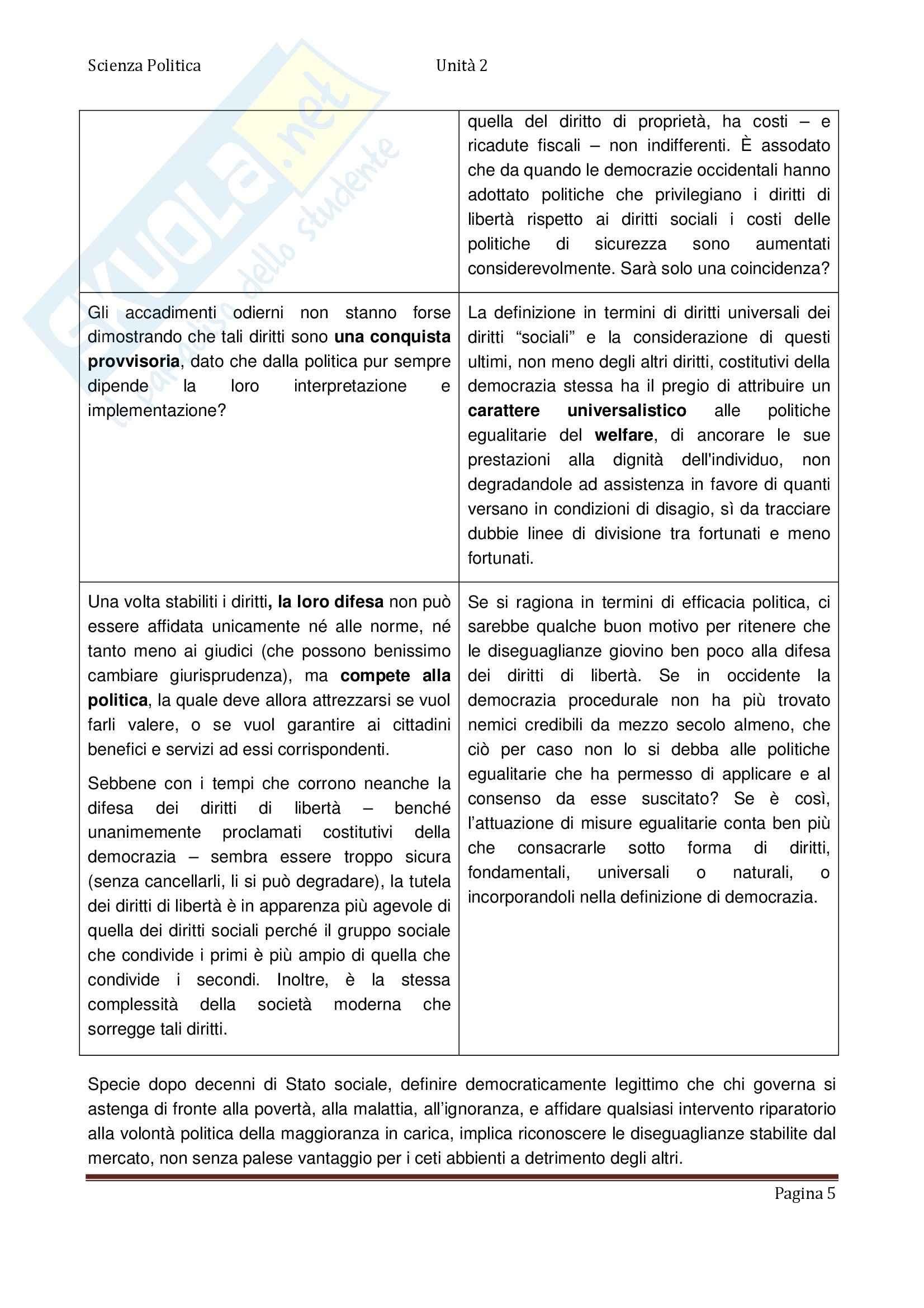 Scienza politica - Appunti Pag. 26