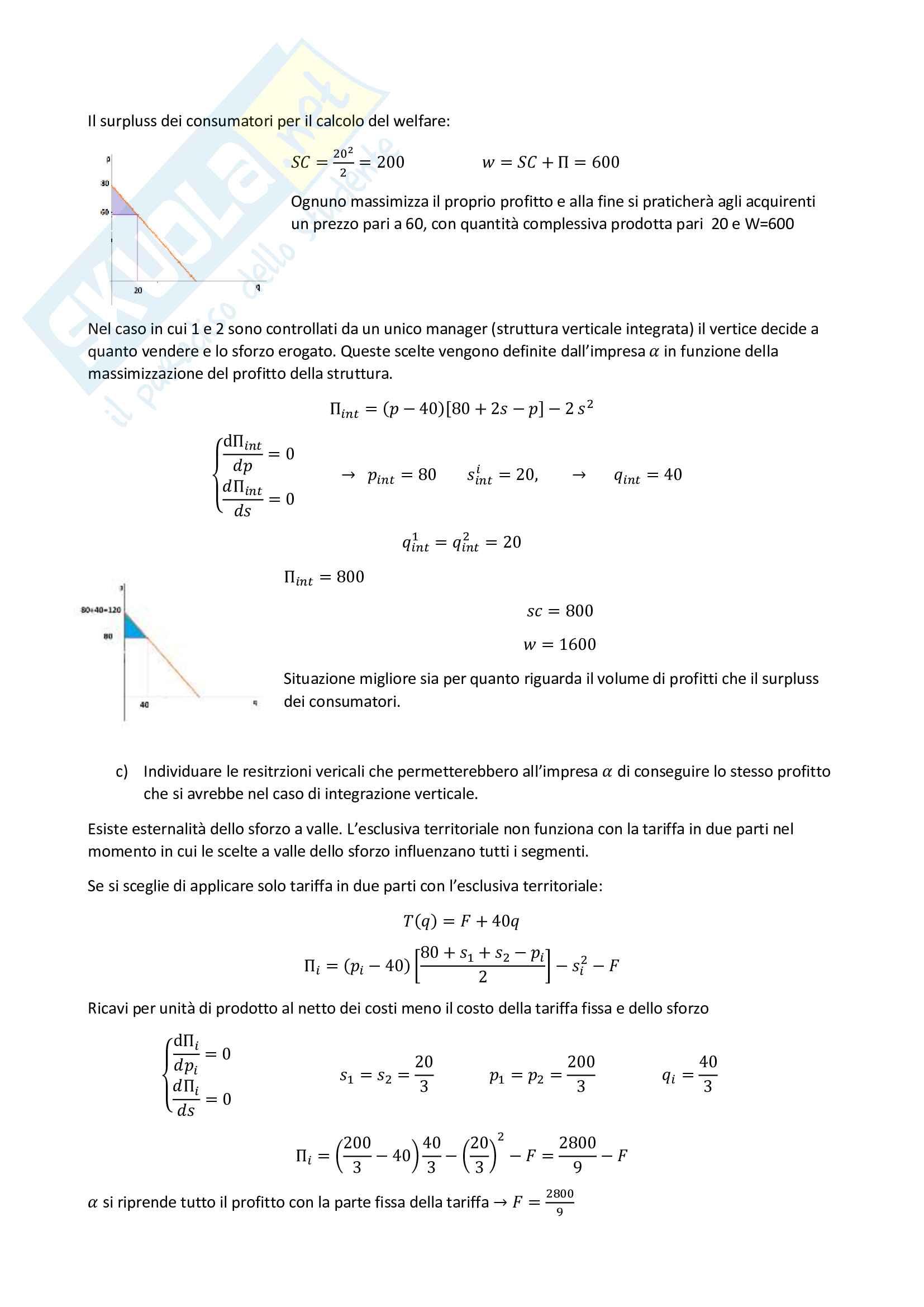 Economia dei sistemi industriali parte prof. Nastasi Pag. 21