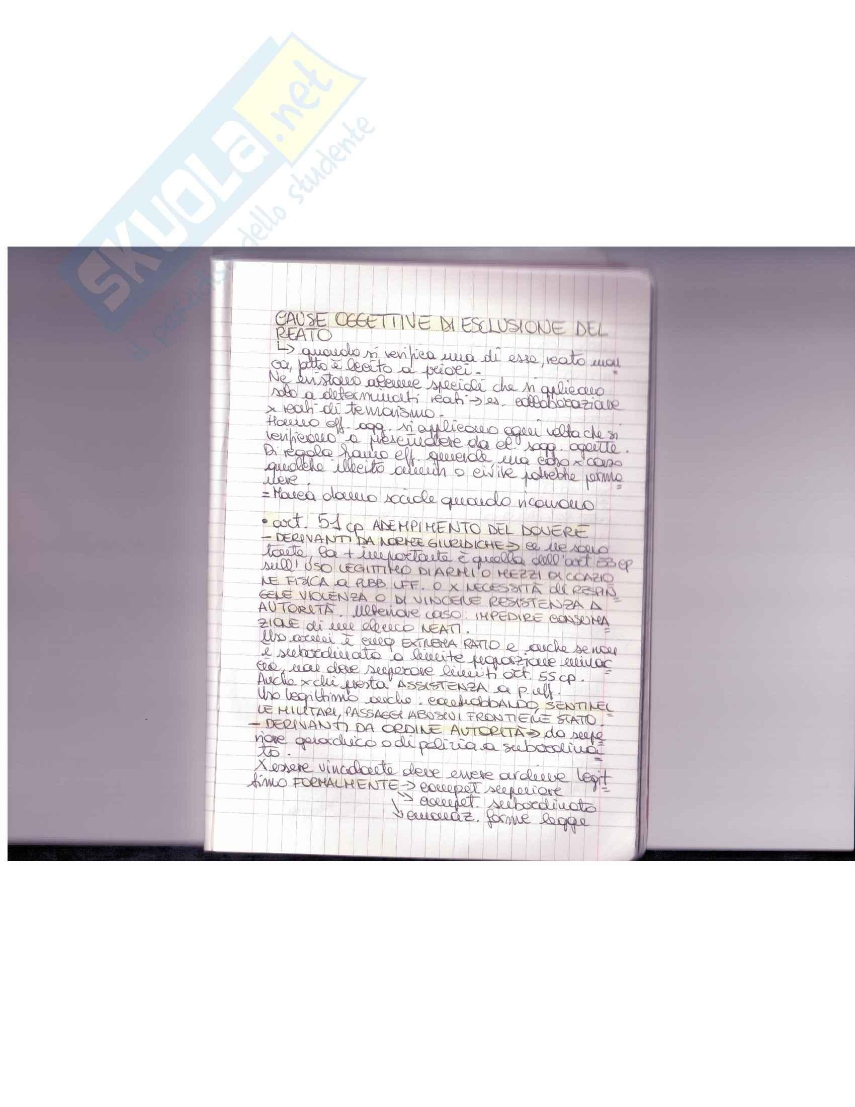 appunto A. Fiorella Diritto Penale I