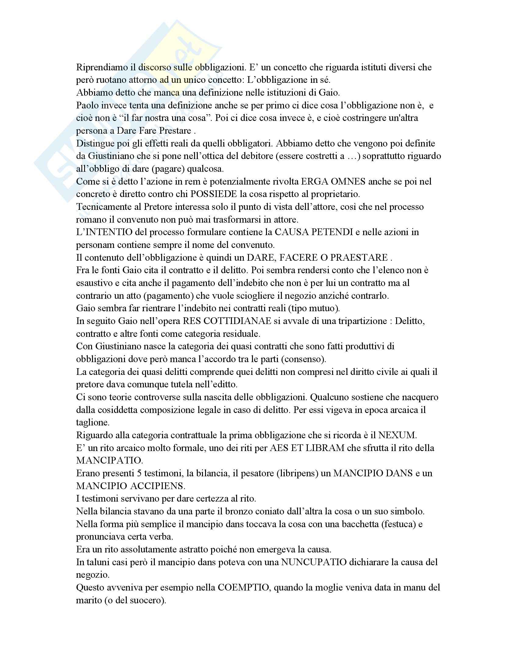 Diritto romano - Lezioni e Marrone Pag. 31