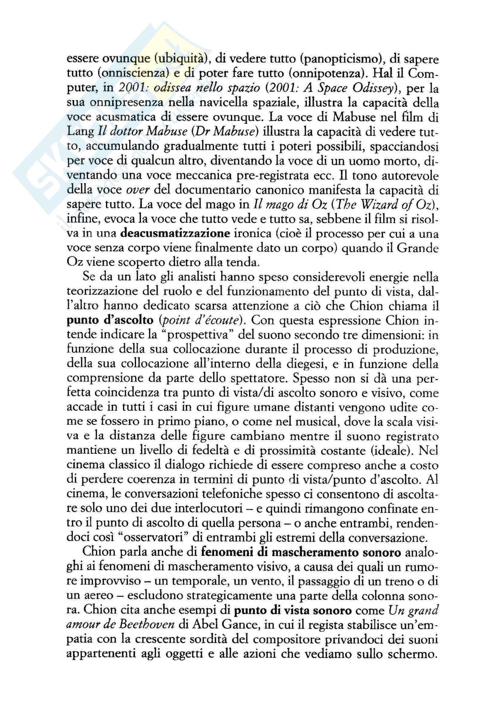 Letteratura e cinema - il linguaggio verbale nel cinema Pag. 2