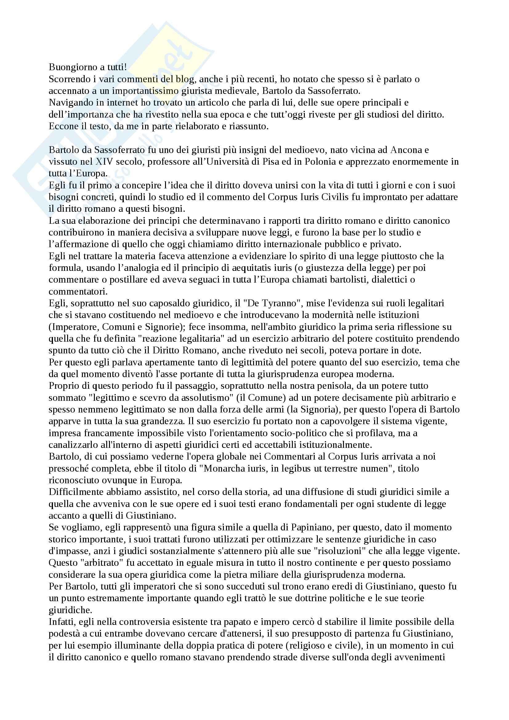 Bartolo da Sassoferrato
